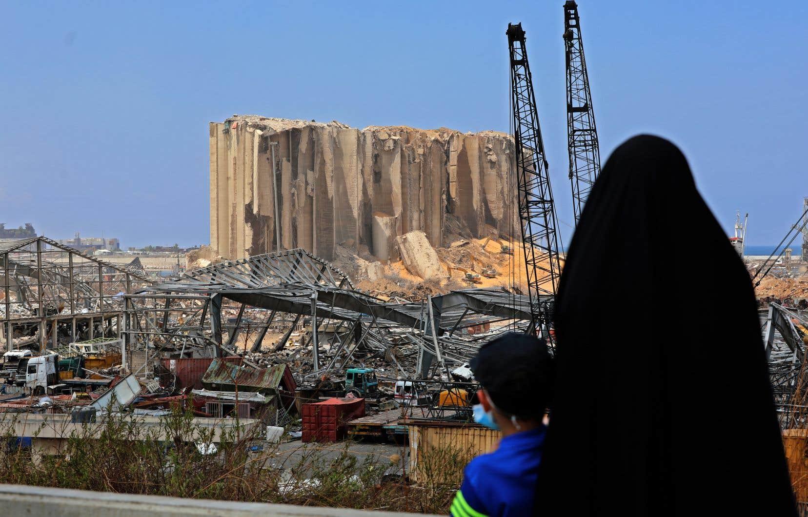 La déflagration a été provoquée le 4août par un incendie dans un entrepôt au port où avaient été stockées, selon les autorités, 2750 tonnes de nitrate d'ammonium depuis six ans.