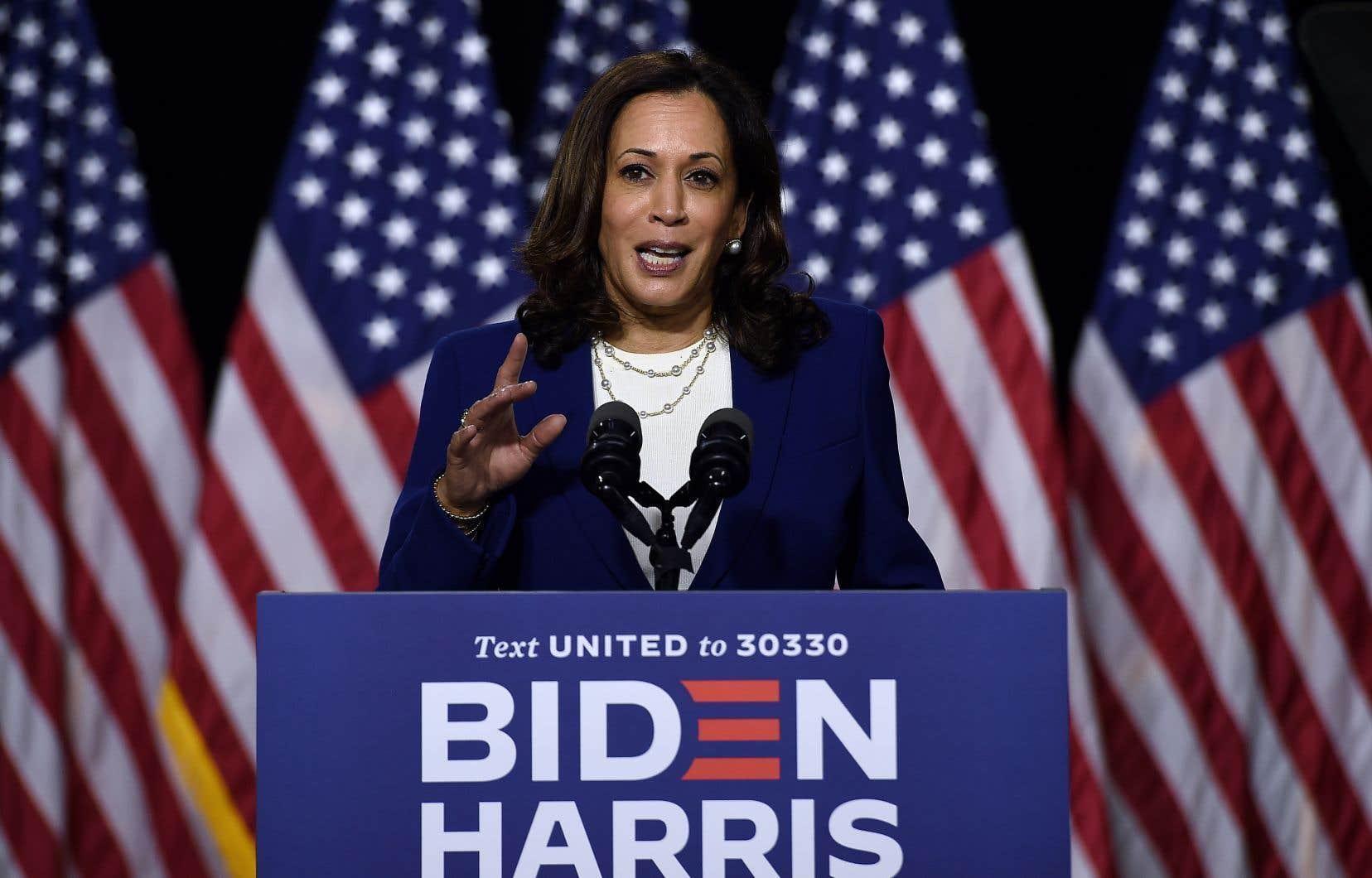 Biden présente Kamala Harris, la «bonne personne» pour l'aider à «reconstruire le pays»