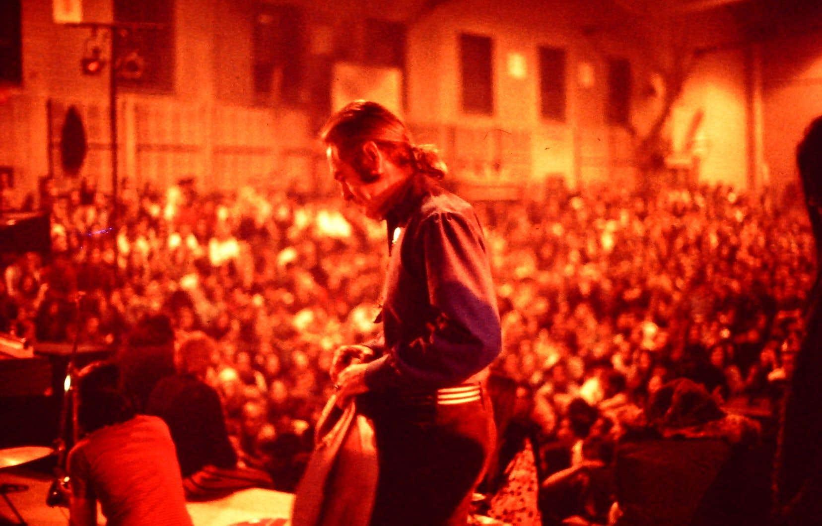 Timothy Leary en tournée de lecture, à l'Université d'État de New York à Buffalo, en 1969.