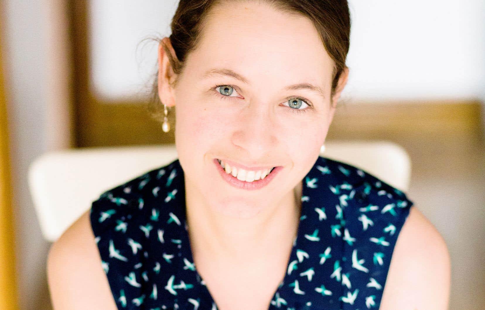 Julie Dugal puise dans le concret pour construire son univers forestier.