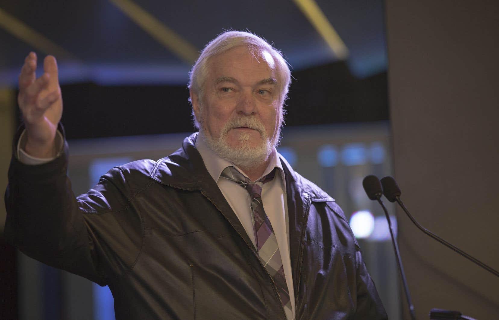 Michel Dumont en 2013