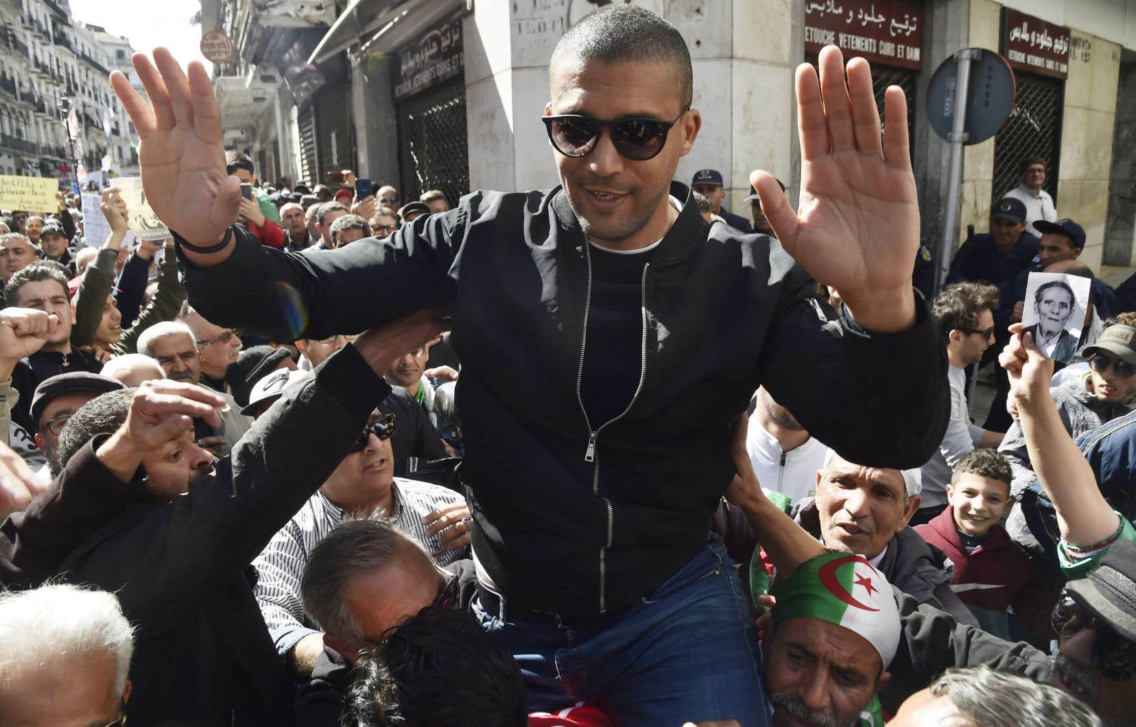 Khaled Drareni, 40ans, directeur du site d'information Casbah Tribune, est correspondant en Algérie pour la chaîne francophone TV5 Monde et l'ONG Reporters sans frontières (RSF).