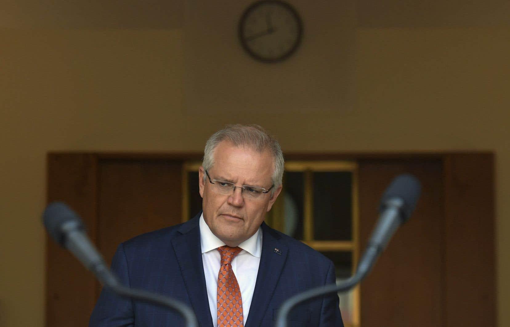 Le premier ministre australien, Scott Morrison