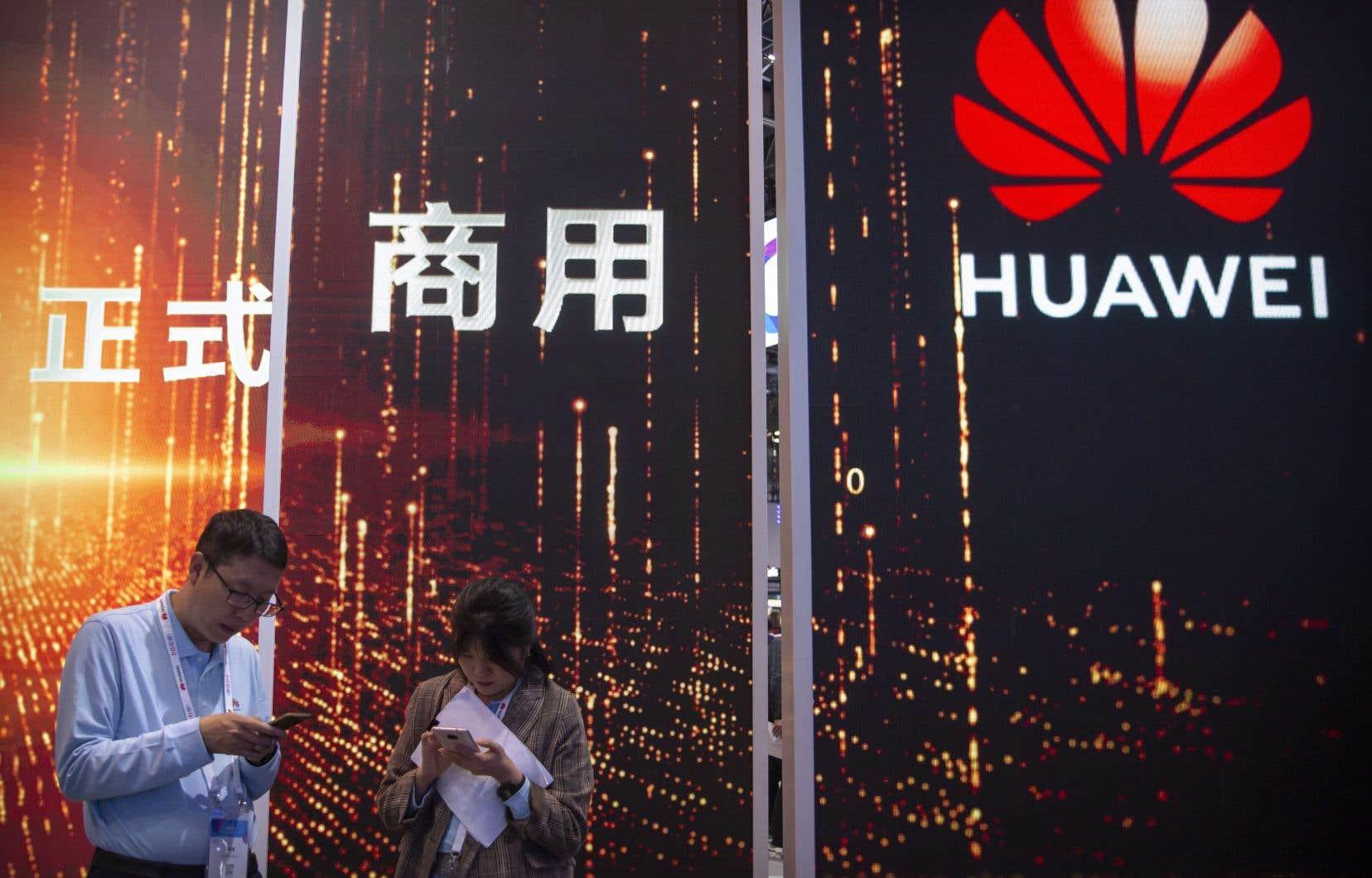 Pour Pékin, Washington a commis envers Huawei et d'autres entreprises chinoises «un abus de son pouvoir national d'imposer toutes sortes de restrictions».