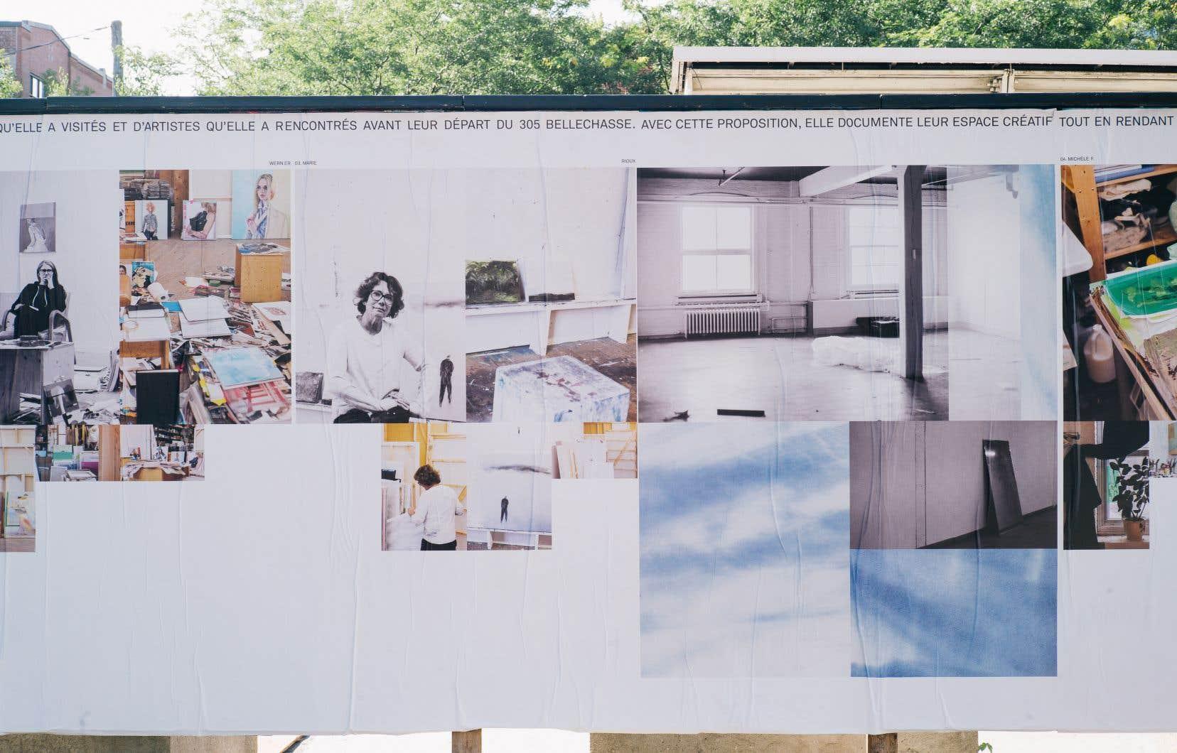 Le projet de Sandra Larochelle relate ses rencontres avec une douzaine d'artistes.