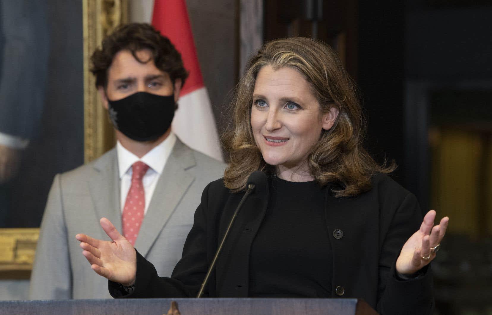 Justin Trudeau et Chrystia Freeland ont redit cette semaine qu'ils entendaient déployer un plan pour une «relance verte», «forte» et «équitable».