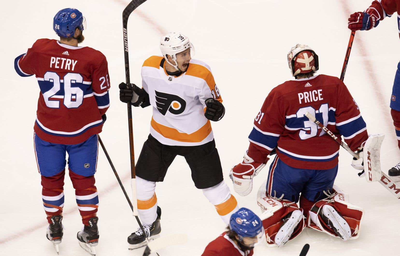 Les Flyers ont remporté la série quart de finale de l'Association de l'Est 4-2.