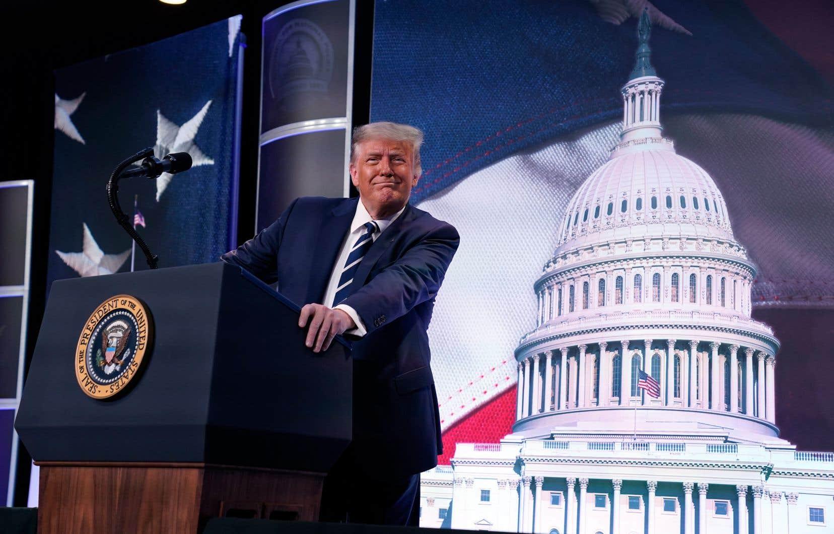 «À vrai dire, il est difficile de voir comment les démocrates sauront tirer leur épingle du jeu tellement ils correspondent à l'étiquette que réussit à leur coller Donald Trump», affirme l'auteur.