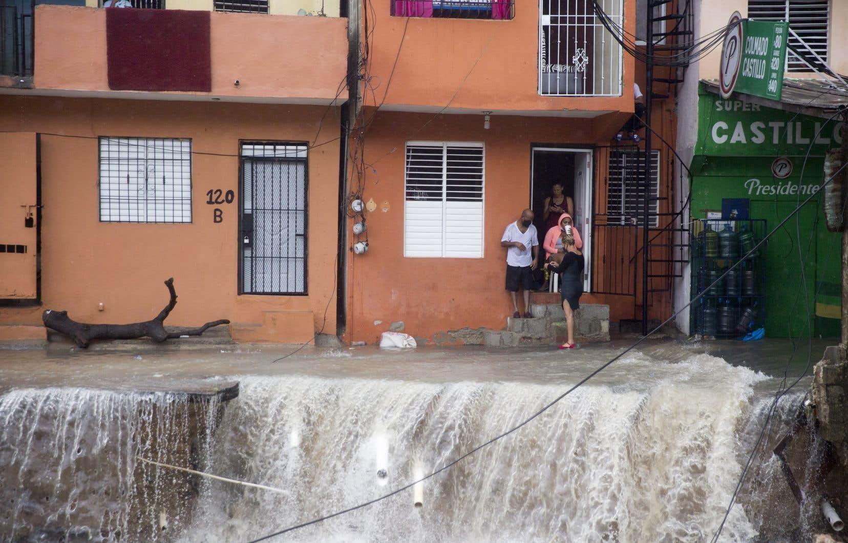 Quatre personnes ont trouvé la mort lors du passage de la tempête <em>Laura</em> en République dominicaine.