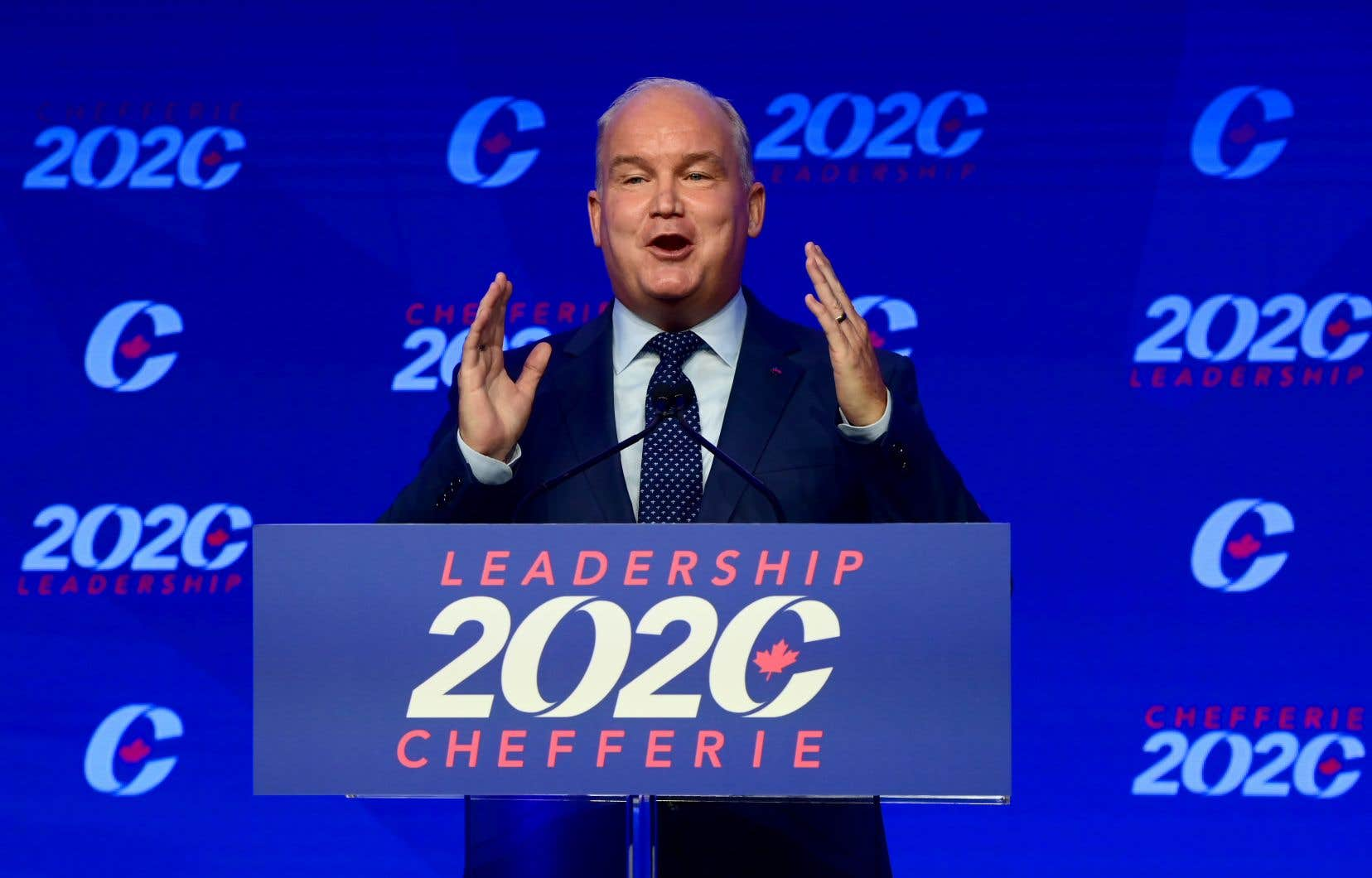 L'arrivée d'Erin O'Toole à la tête du Parti conservateur n'inspire pas les Québécois, selon le sondage de la firme Léger.