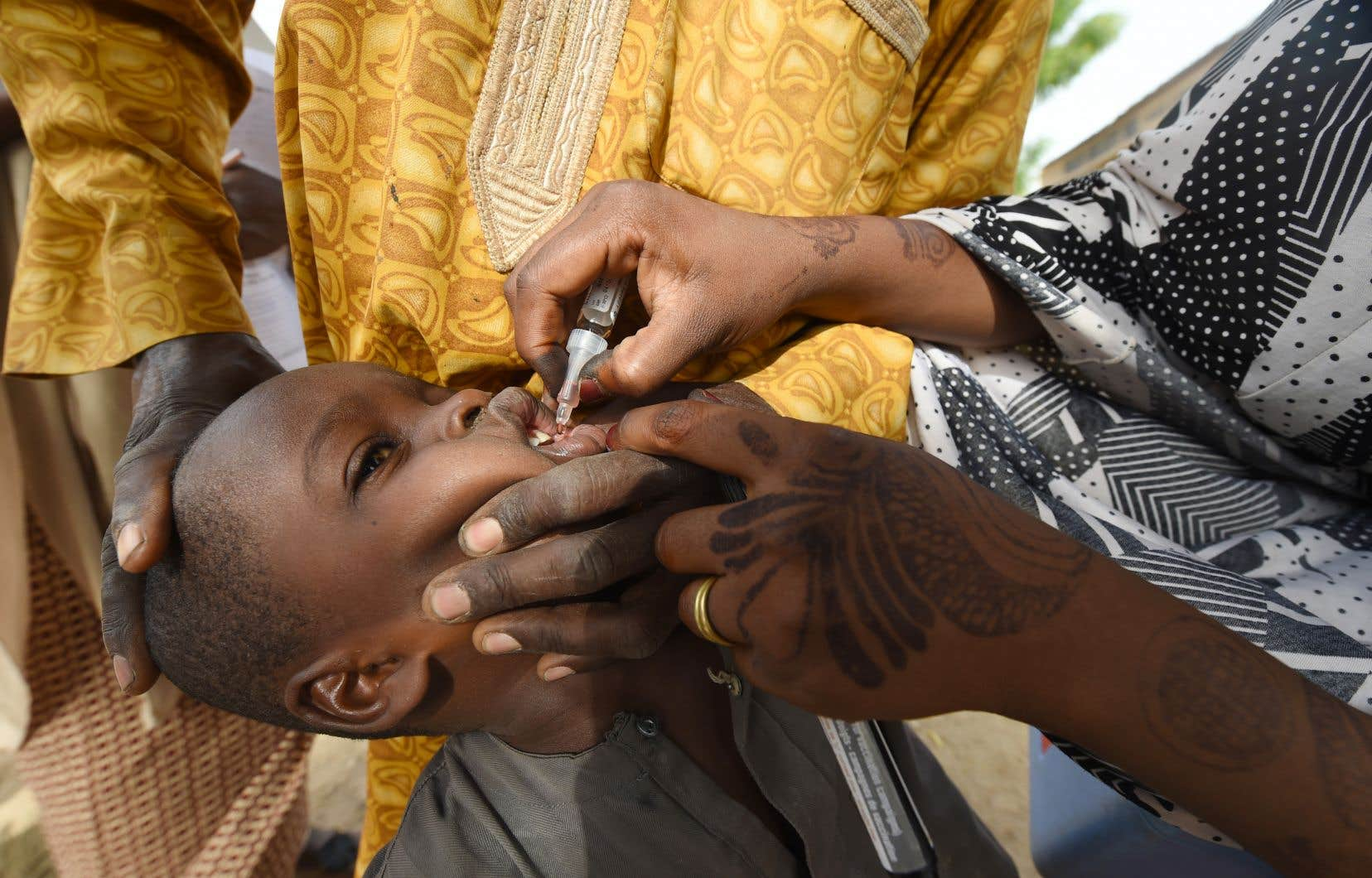 La polio était endémique partout dans le monde jusqu'à la découverte d'un vaccin dans les années 1950.