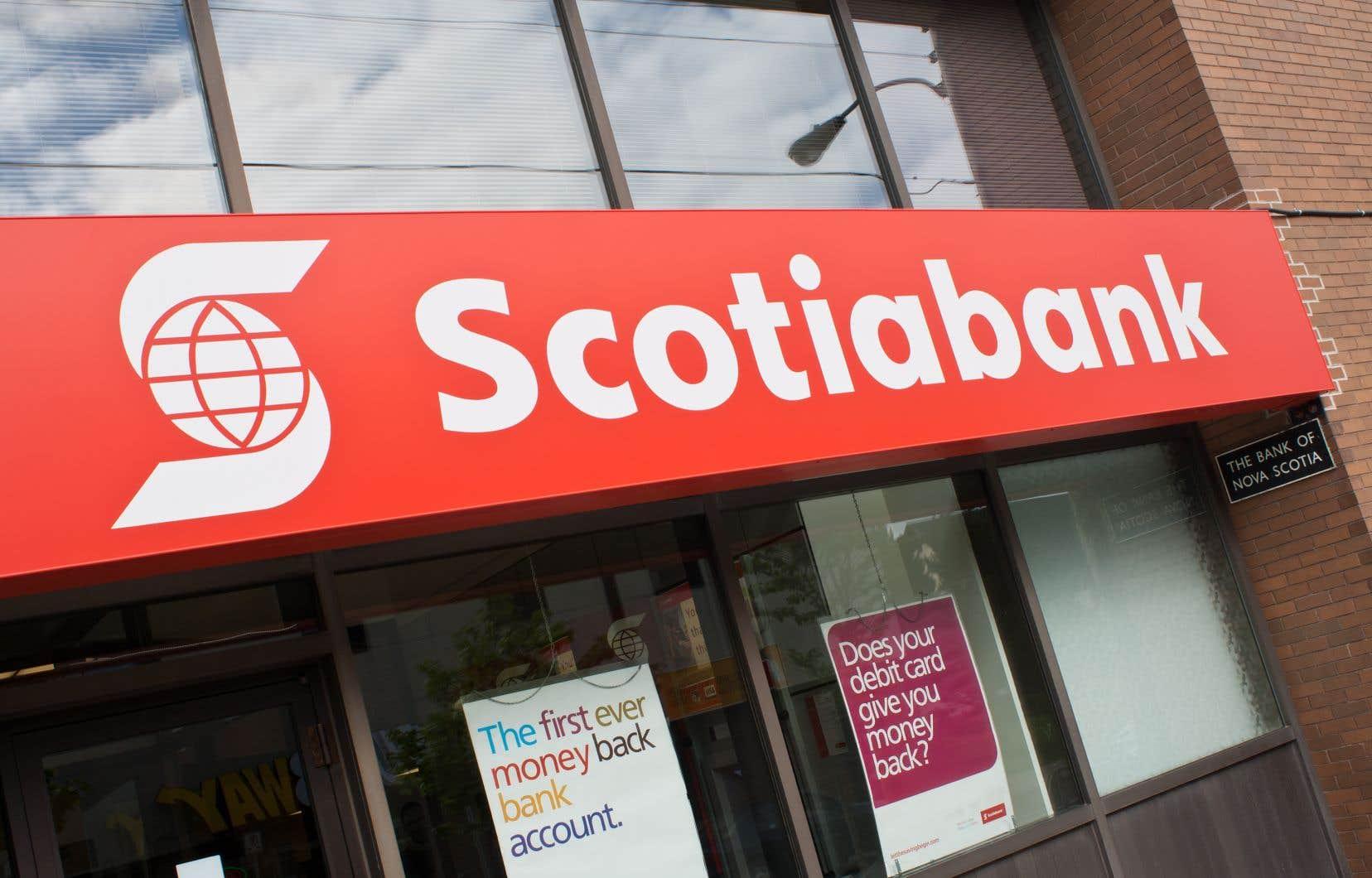 La Scotia a été affectée de manière «significative» par ses activités en Amérique latine, qui ont mis plus de temps à être secouées par la crise sanitaire, ont expliqué les dirigeants de la banque.