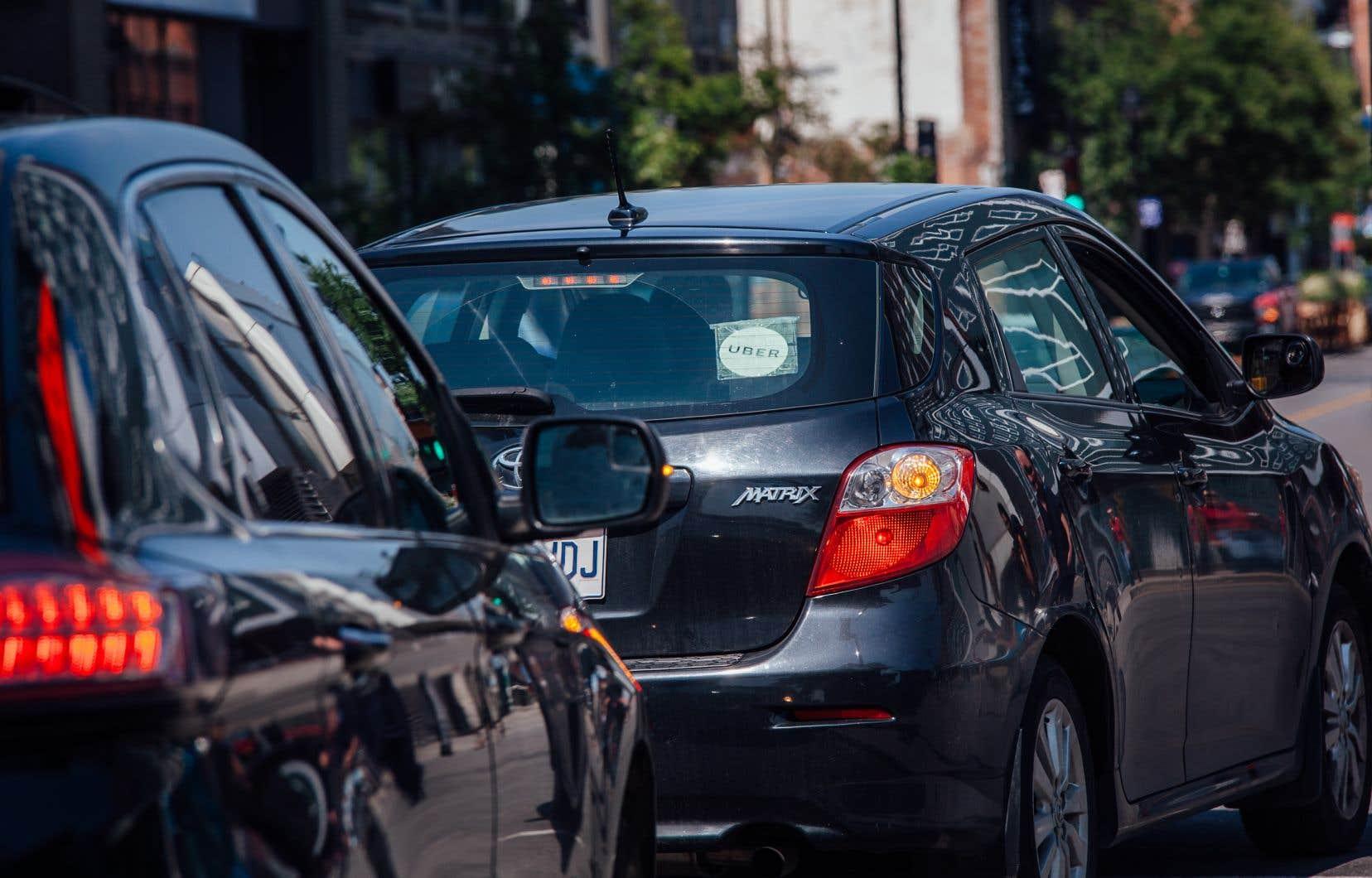 À l'heure actuelle, Uber limite ses activités aux régions de Montréal, Québec et Gatineau.