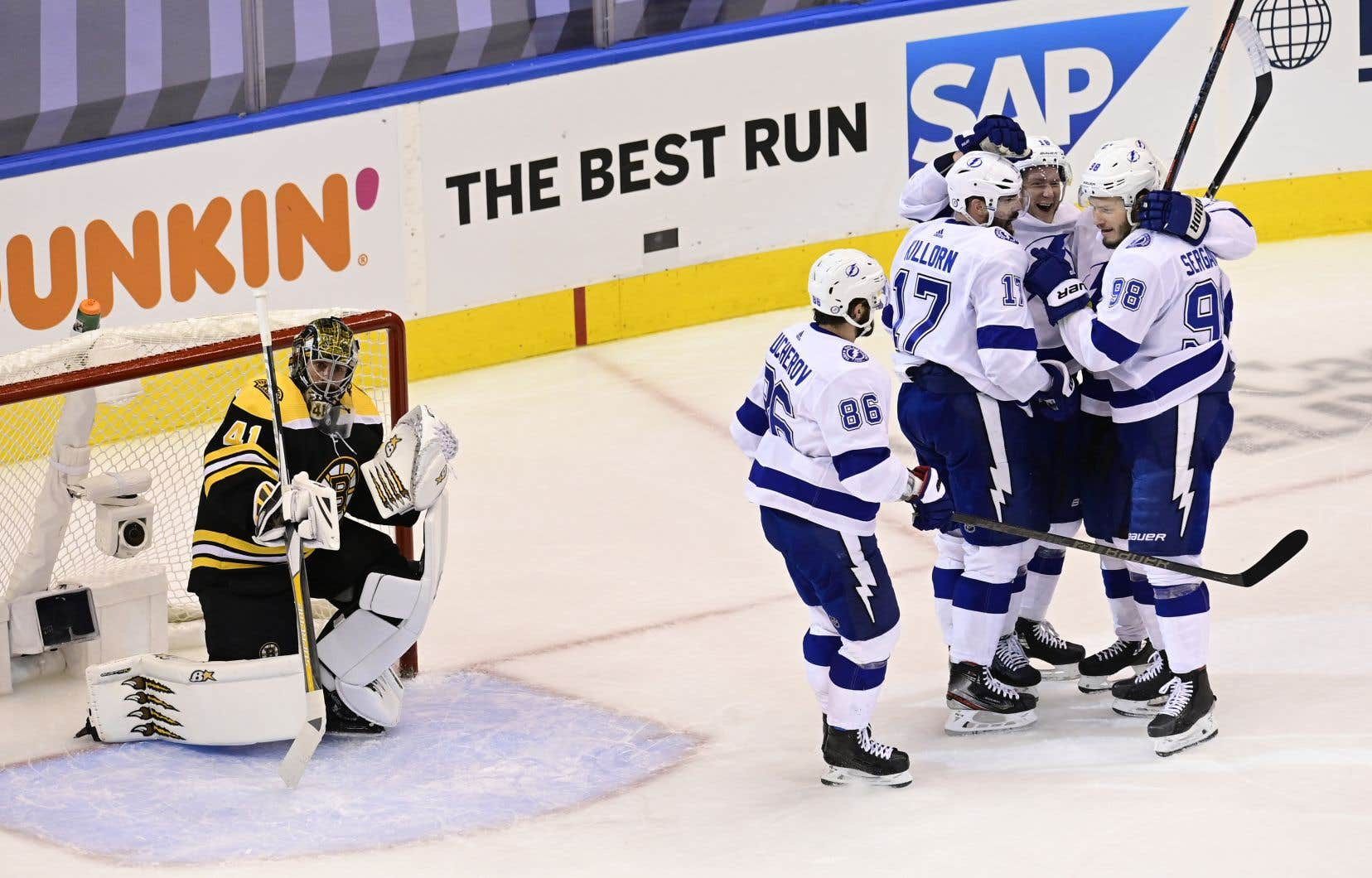 Le Lightning s'est donc donné une avance de 2-1 dans la série au meilleur de sept matchs.