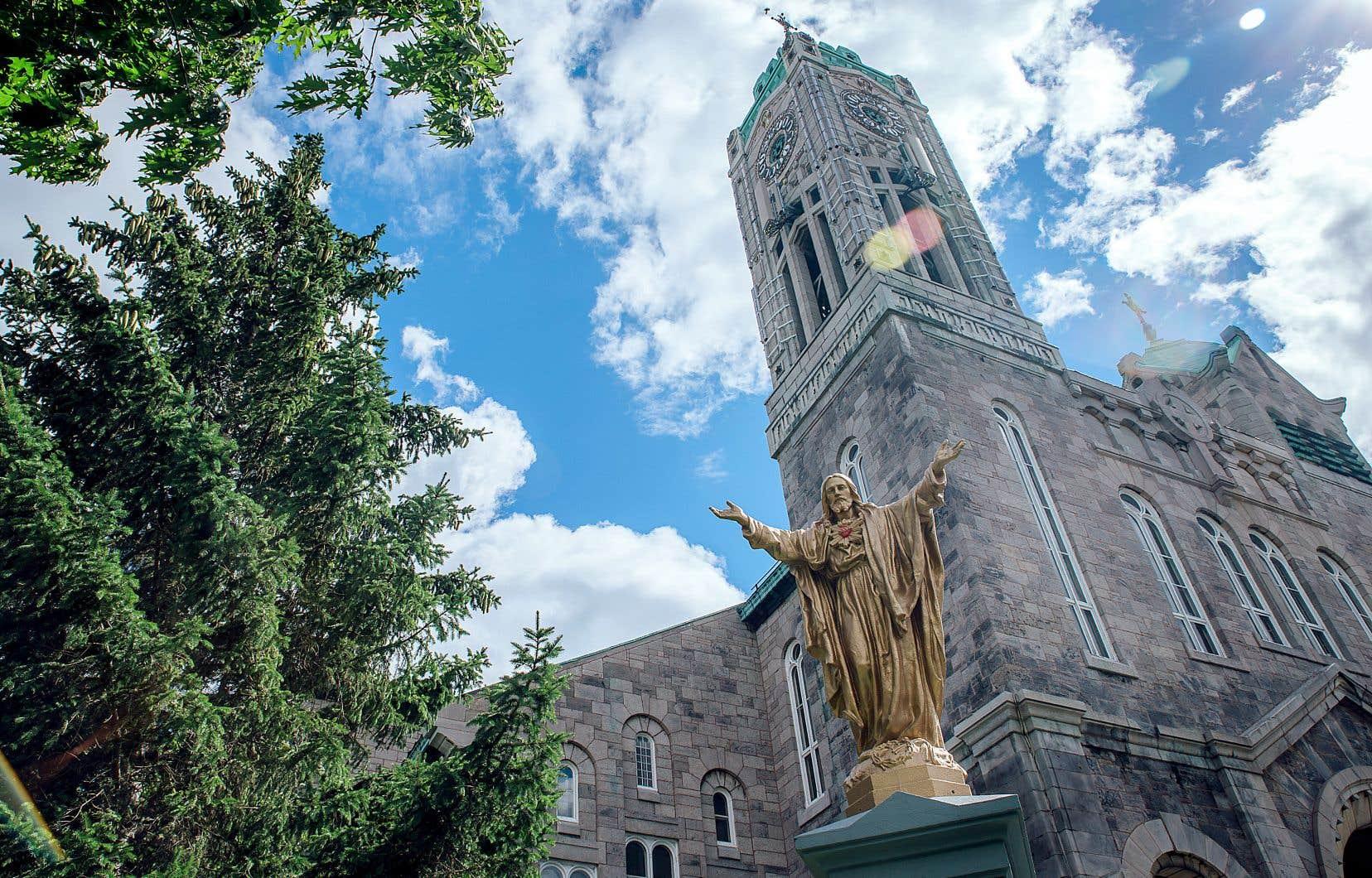 L'église Saint-Denis, sur le Plateau, où l'École superieure de ballet du Quebec veut s'installer.