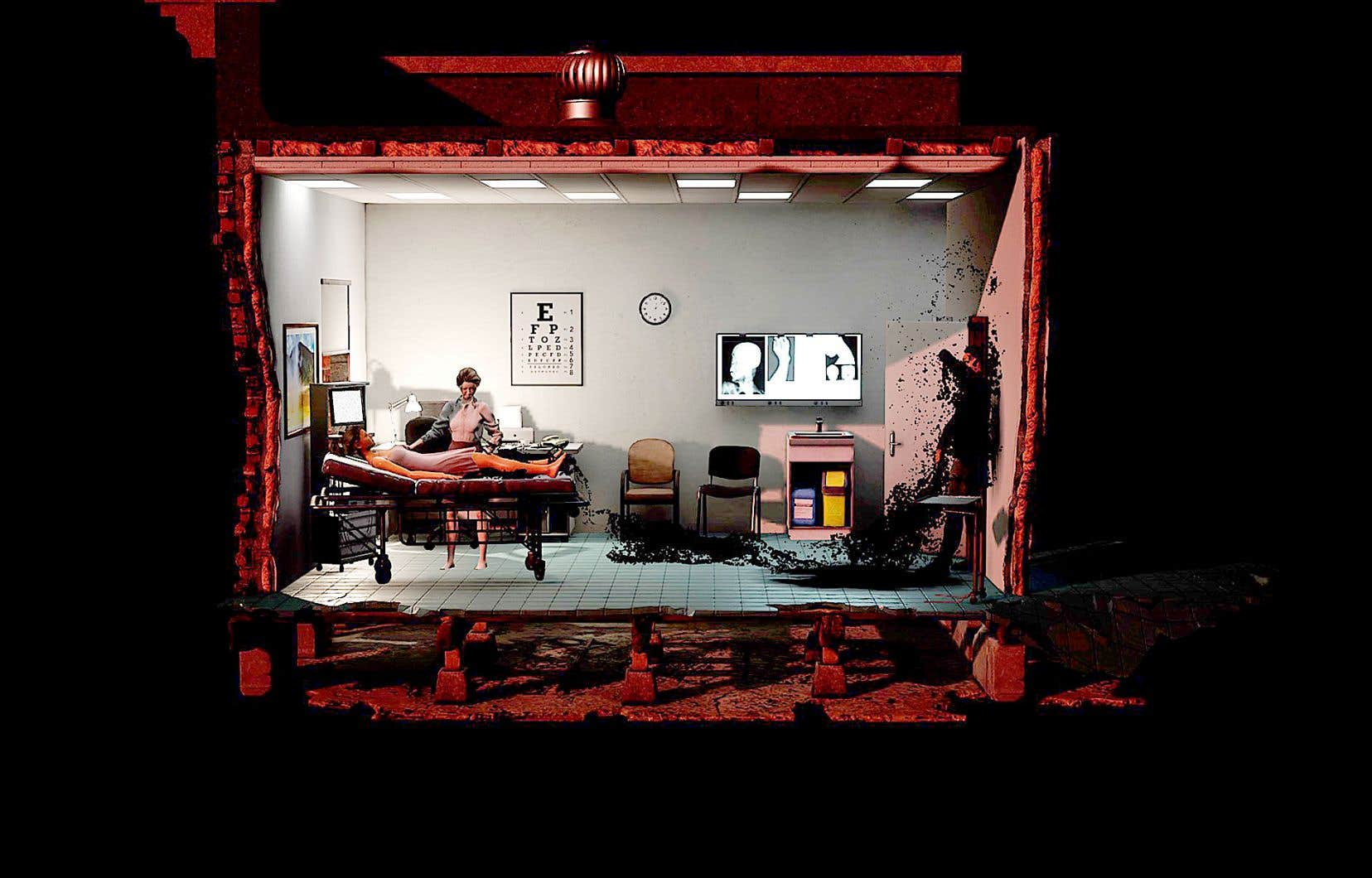 Une scène de «Minimum Mass», de Raqi Syed et Areito Echevarria. Sur la quarantaine d'oeuvres présentées, cinq sont canadiennes.