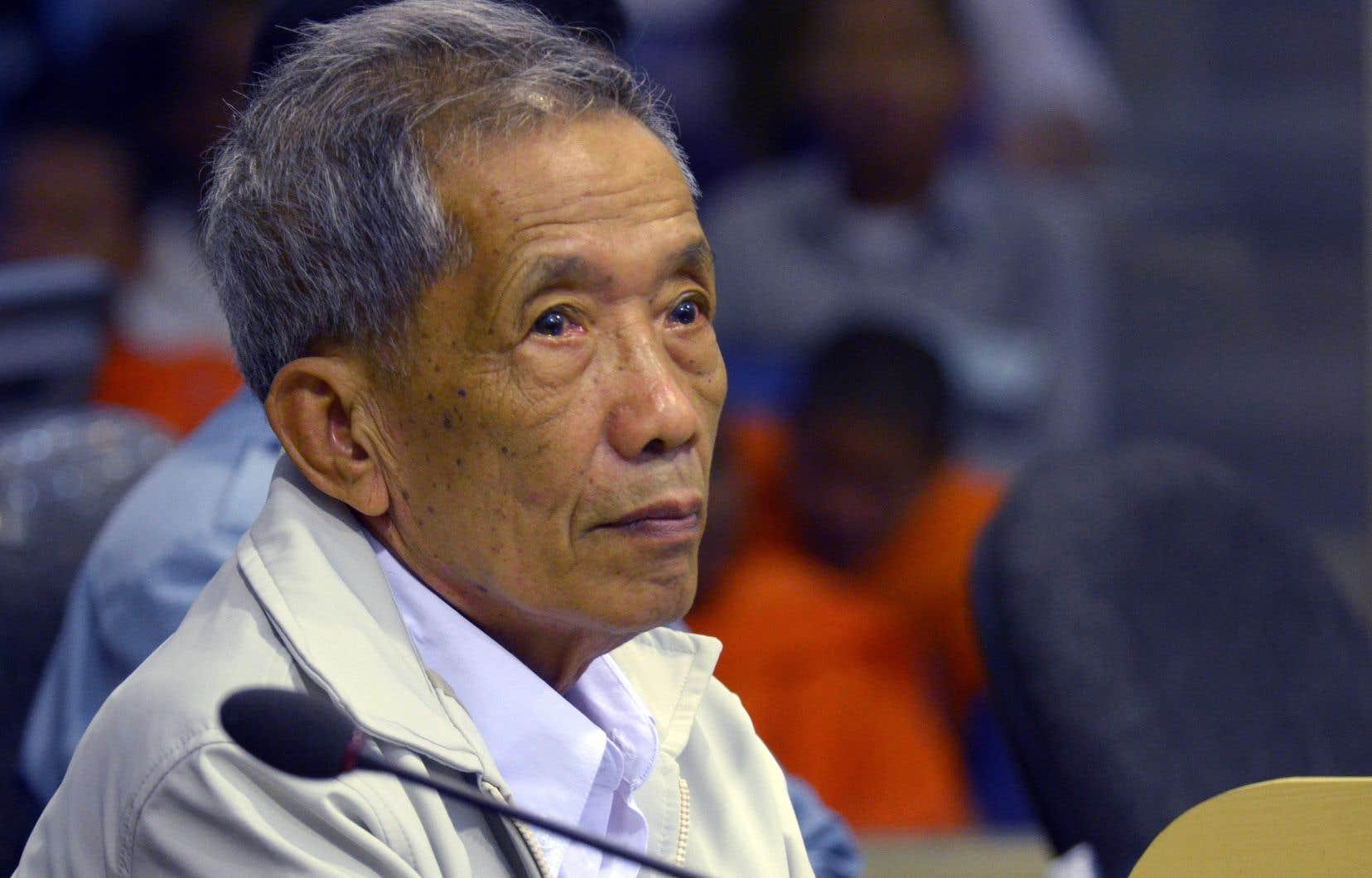 Kaing Guek Eav, alias Douch,a été le premier Khmer rouge condamné par un tribunal pour crimes de guerre.