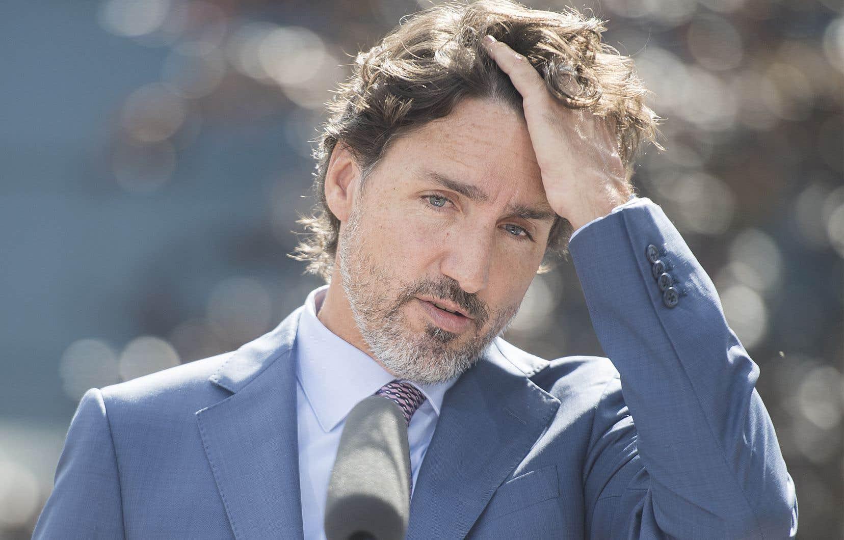«Nous avons une excellente gouverneure générale en ce moment, et je pense qu'avec la crise de la COVID, personne ne veut d'une crise constitutionnelle», a dit le premier ministre.