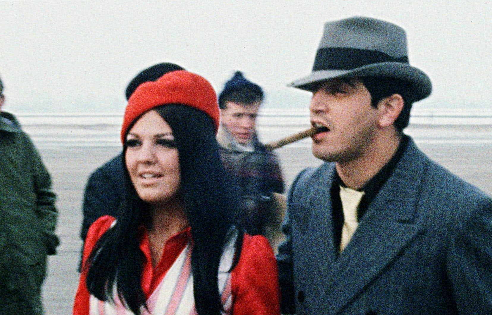 Le véritable maître du jeu, et la figure centrale de «Jukebox», c'est Denis Pantis, ici avec Michèle Richard. C'est lui qui a littéralement inventé au Québec la fonction de producteur tout-puissant.