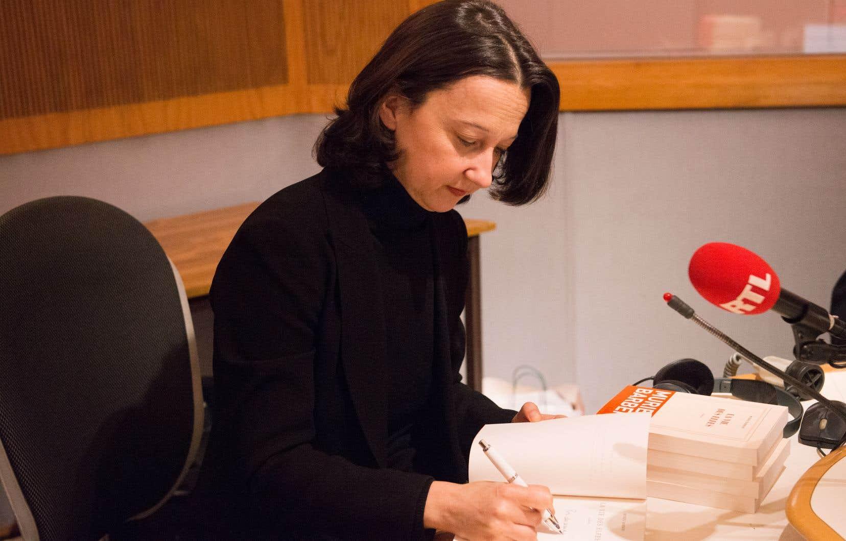 L'écrivaine Muriel Barbery