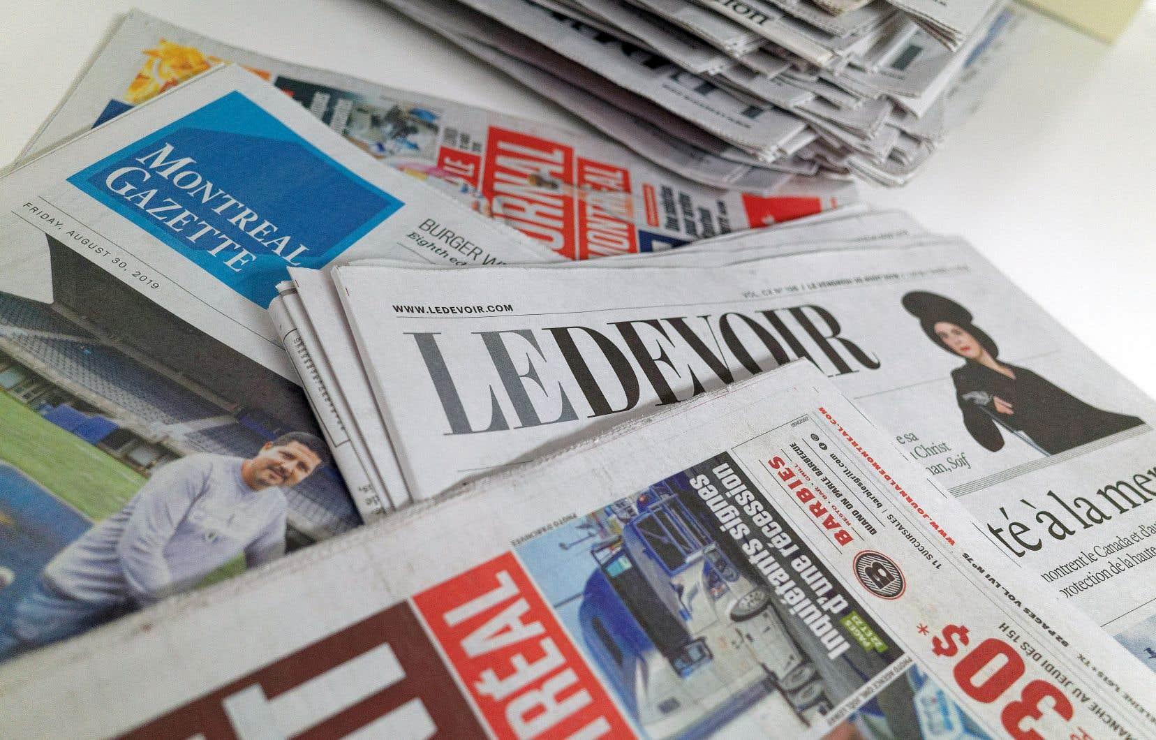 Les réseaux sociaux sur lesquels se partagent les articles de médias — que ce soit «Le Devoir», «Le Soleil», «La Presse» ou «Le Journal de Montréal» — devront dédommager ces médias pour l'utilisation de leur matériel original,
