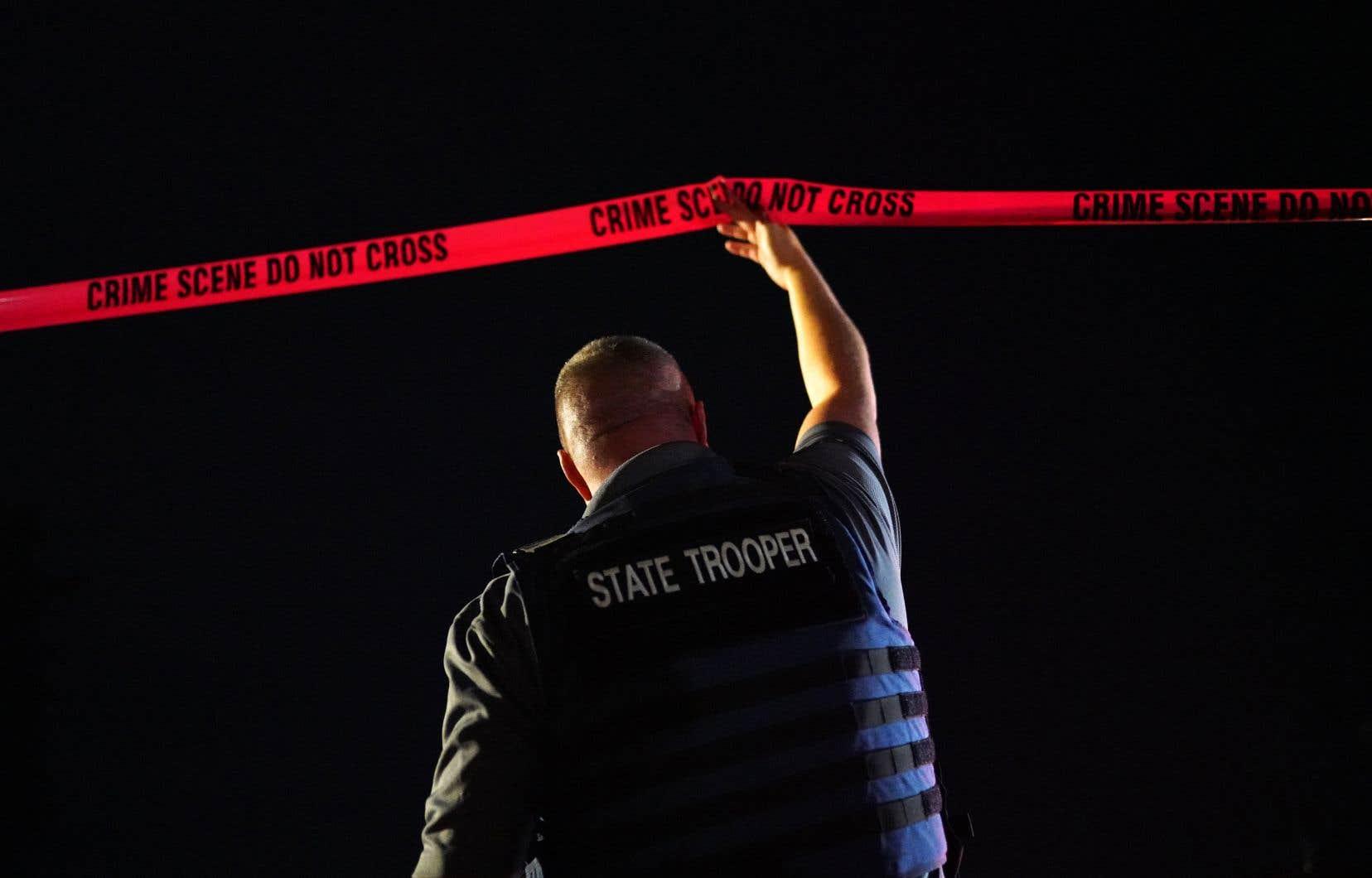 Les forces policières ont tiré et tué un homme qui serait Michael Forest Reinoehl, à Tanglewilde Terrace, Washington.