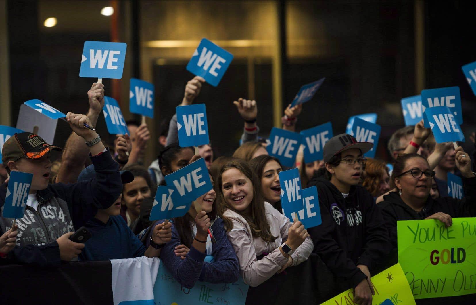 Les activités de «WE Charity» au Royaume-Uni et aux États-Unis ne seront pas immédiatement affectées.