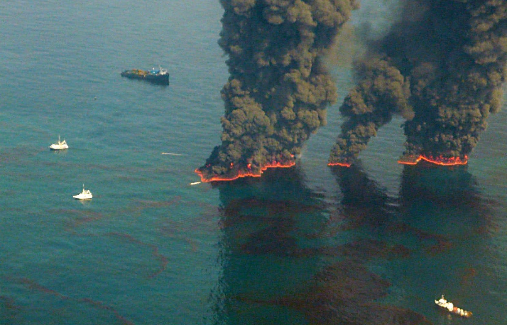 La pétrolière BP, à l'origine de la pire marée noire de l'histoire américaine, est visée par la poursuite du Delaware.