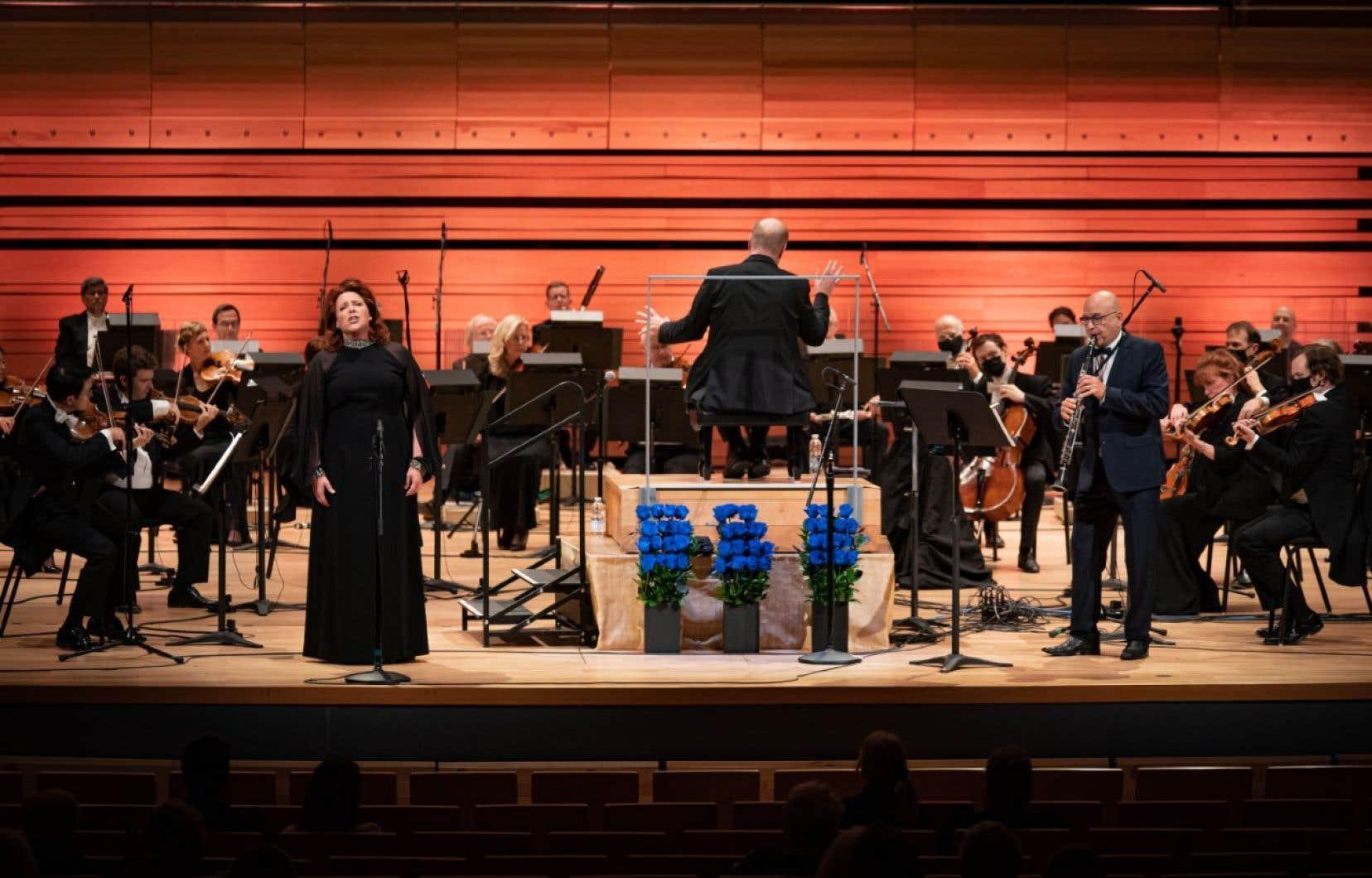 Musicalement, la première étoile de la soirée va aux deux chanteuses. Oser tant de mordant, comme Karina Gauvin dans «Ah, Perfido!» et Marie-Nicole Lemieux (sur la photo) dans «Deh, per questo istante solo», est digne de tous les éloges.