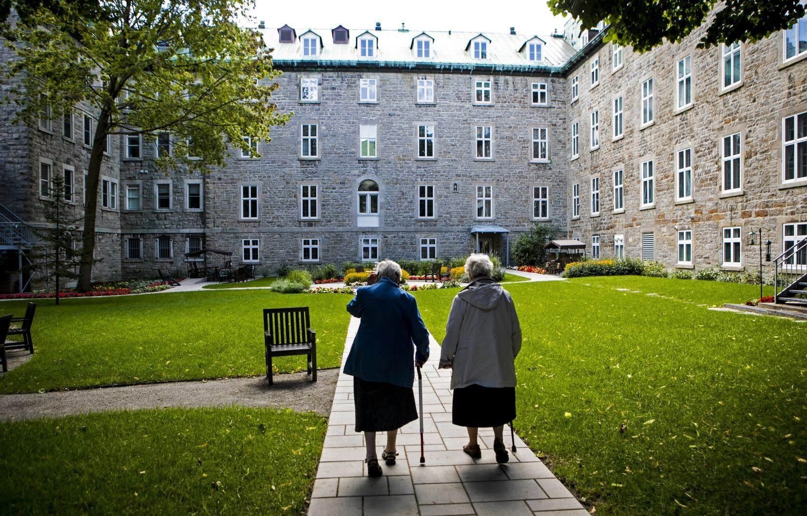 Au monastère des Hospitalières, chaque mètre carré est lié à l'histoire de Montréal.