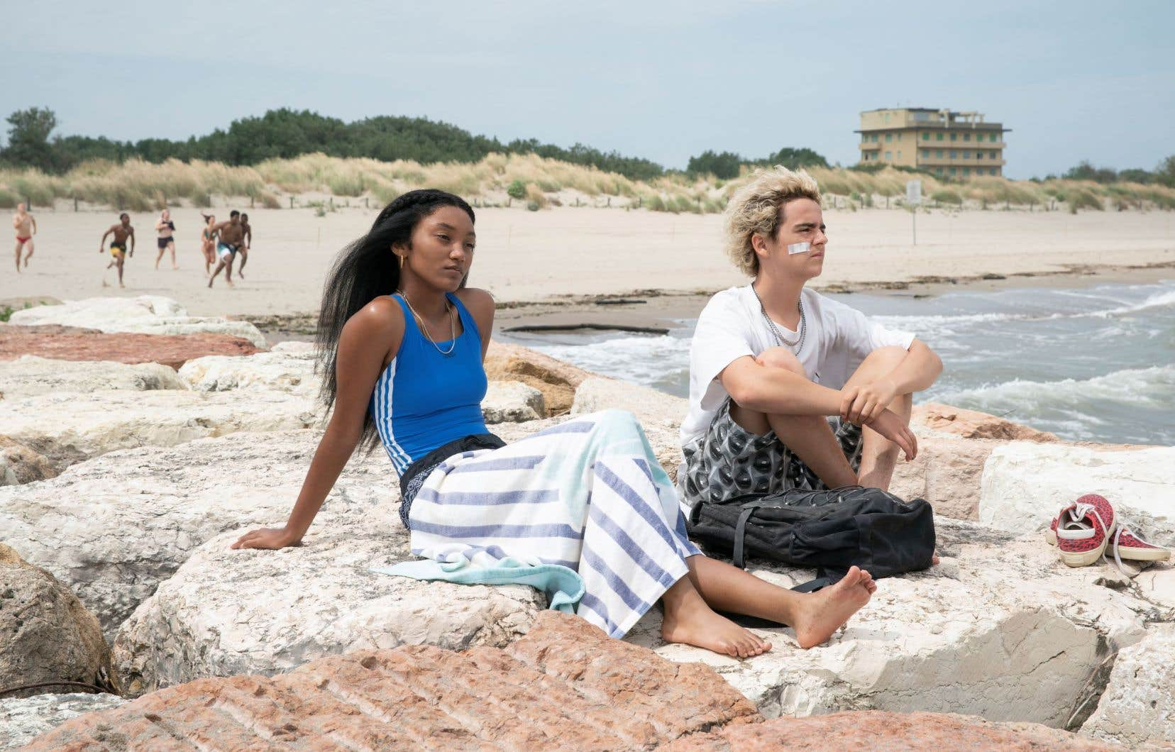 Jack Dylan Grazer et Jordan Kristine Seamón font partie des nouveaux visages qui portent la série.
