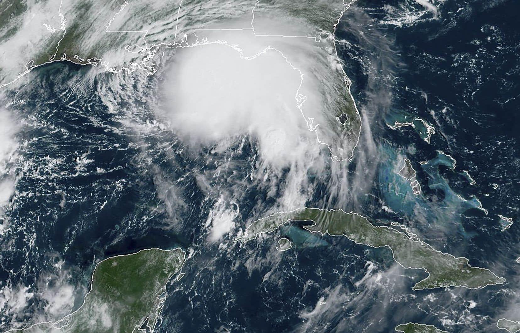 Actuellement à 210km de l'embouchure du Mississippi, <em>Sally</em> risque de provoquer des montées des eaux potentiellement mortelles de la Louisiane jusque dans l'Alabama.