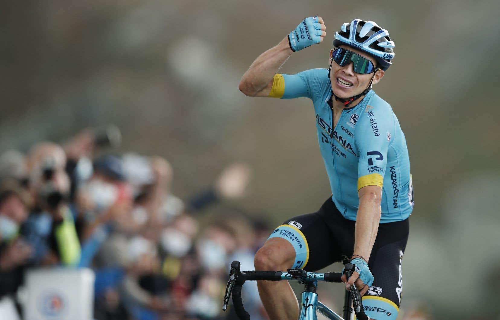 En remportant l'étape la plus exigeante du Tour de France, Miguel Ángel López s'est aussi emparé du troisième rang cumulatif.