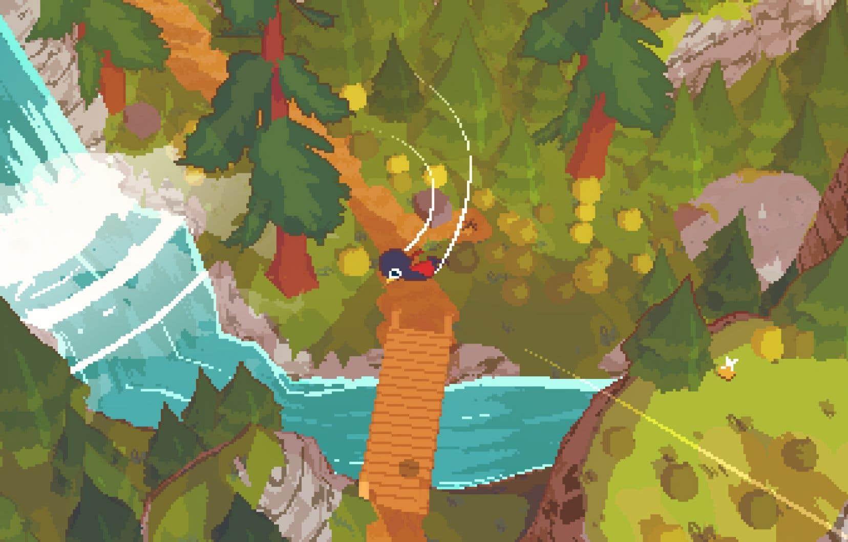 Le jeu est conçu avec le moteur Unity, mais il arrive à trouver sa propre signature visuelle.