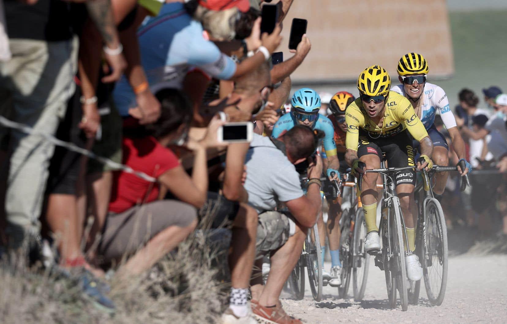 Le Slovène Primoz Roglic a prudemment négocié la dernière étape de montagnes du Tour de France 2020, jeudi s'approchant d'un premier sacre de la Grande Boucle.