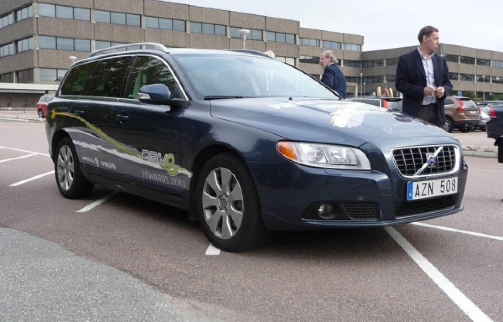 La V 60 hybride de Volvo<br />