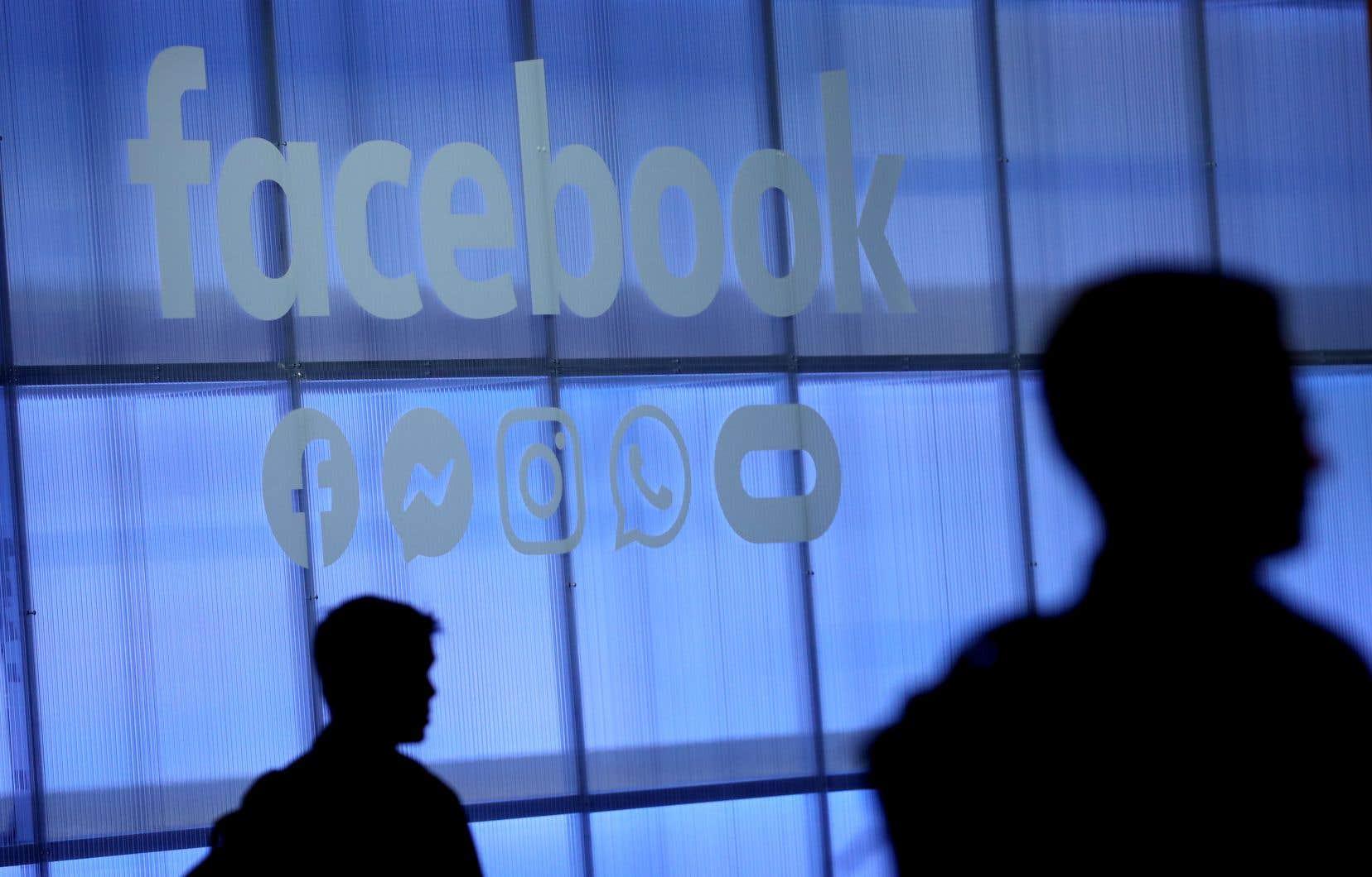 «Le marché de la publicité numérique au Canada est accaparé, à plus de 75%, par Google et Facebook», écrit l'auteur.