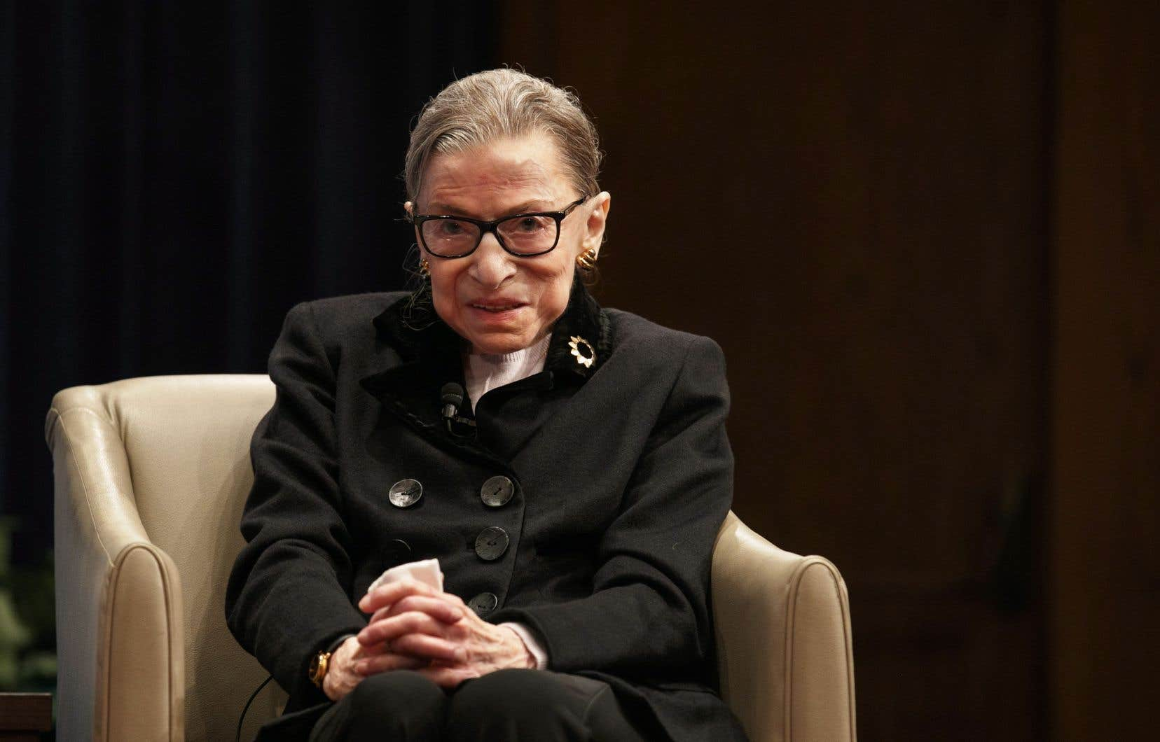 La juge de la Cour suprême des États-Unis Ruth Bader Ginsbur