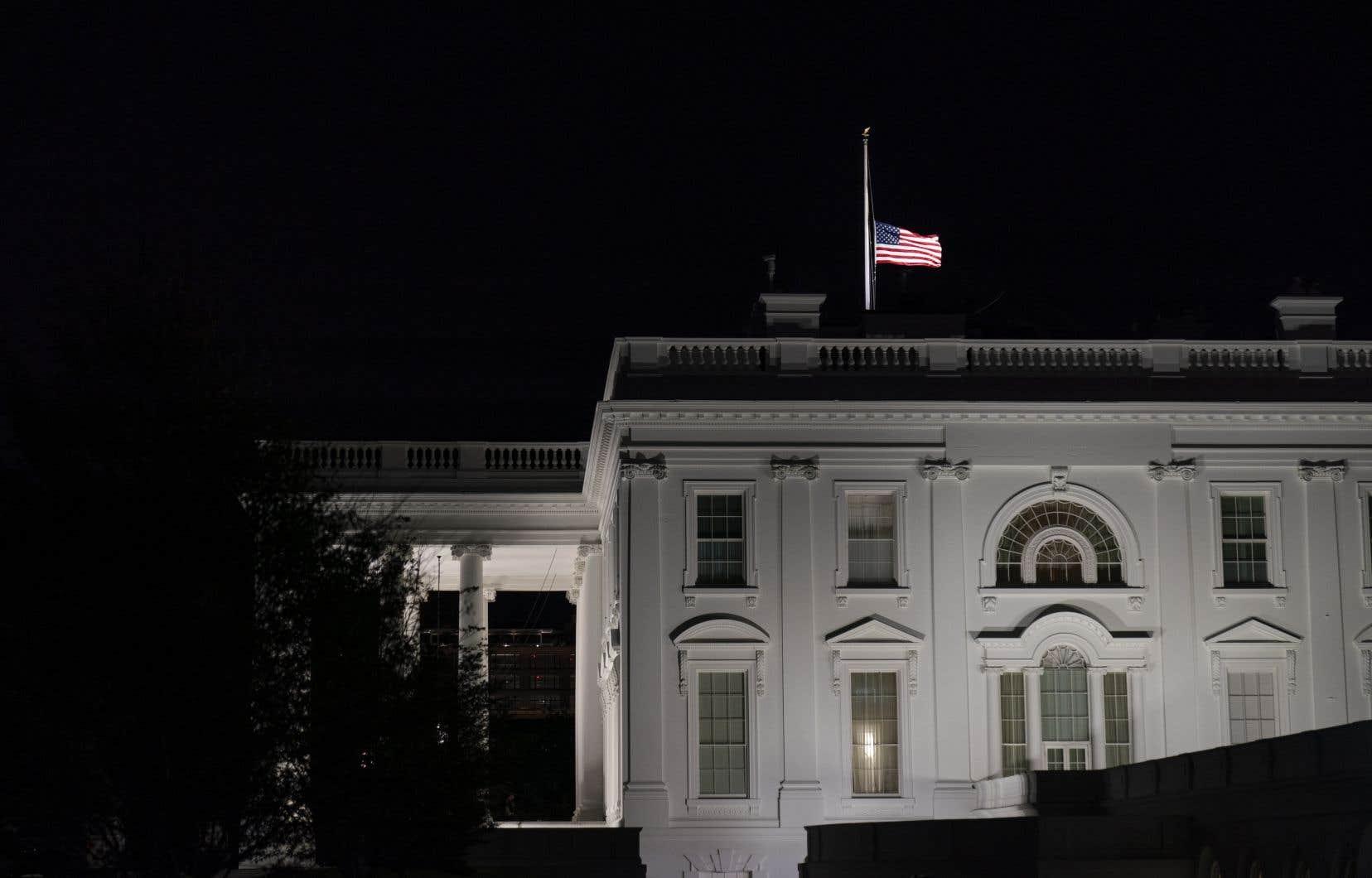 L'enveloppe a été adressée à la Maison Blanche cette semaine et interceptée avant d'atteindre le président Donald Trump.