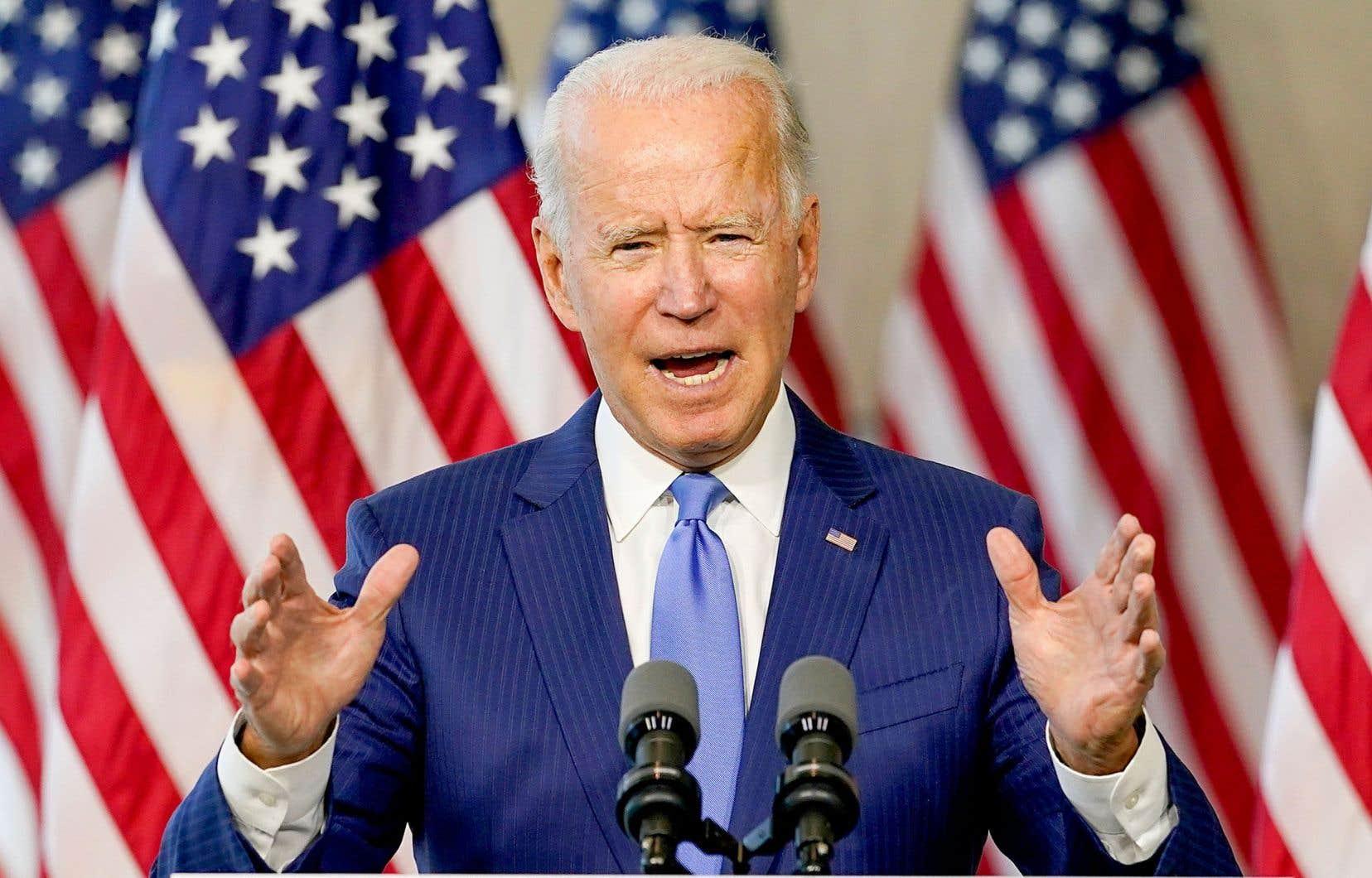 «Respectez vos obligations constitutionnelles, suivez votre conscience», a lancé Biden aux républicains.