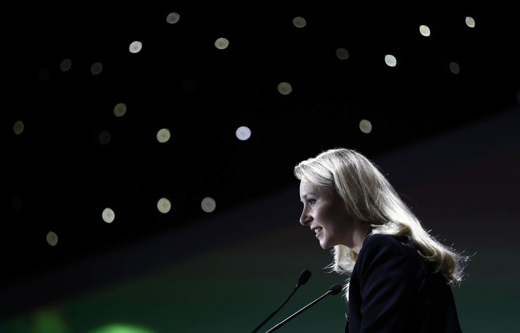 La nièce de  Marine Le Pen, Marion Maréchal