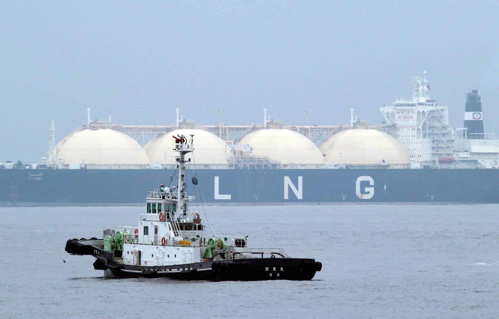 GNL Québec affirme que son projet permettra de réduire les émissions mondiales de gaz à effet de serre, mais cette affirmation reste à démontrer.