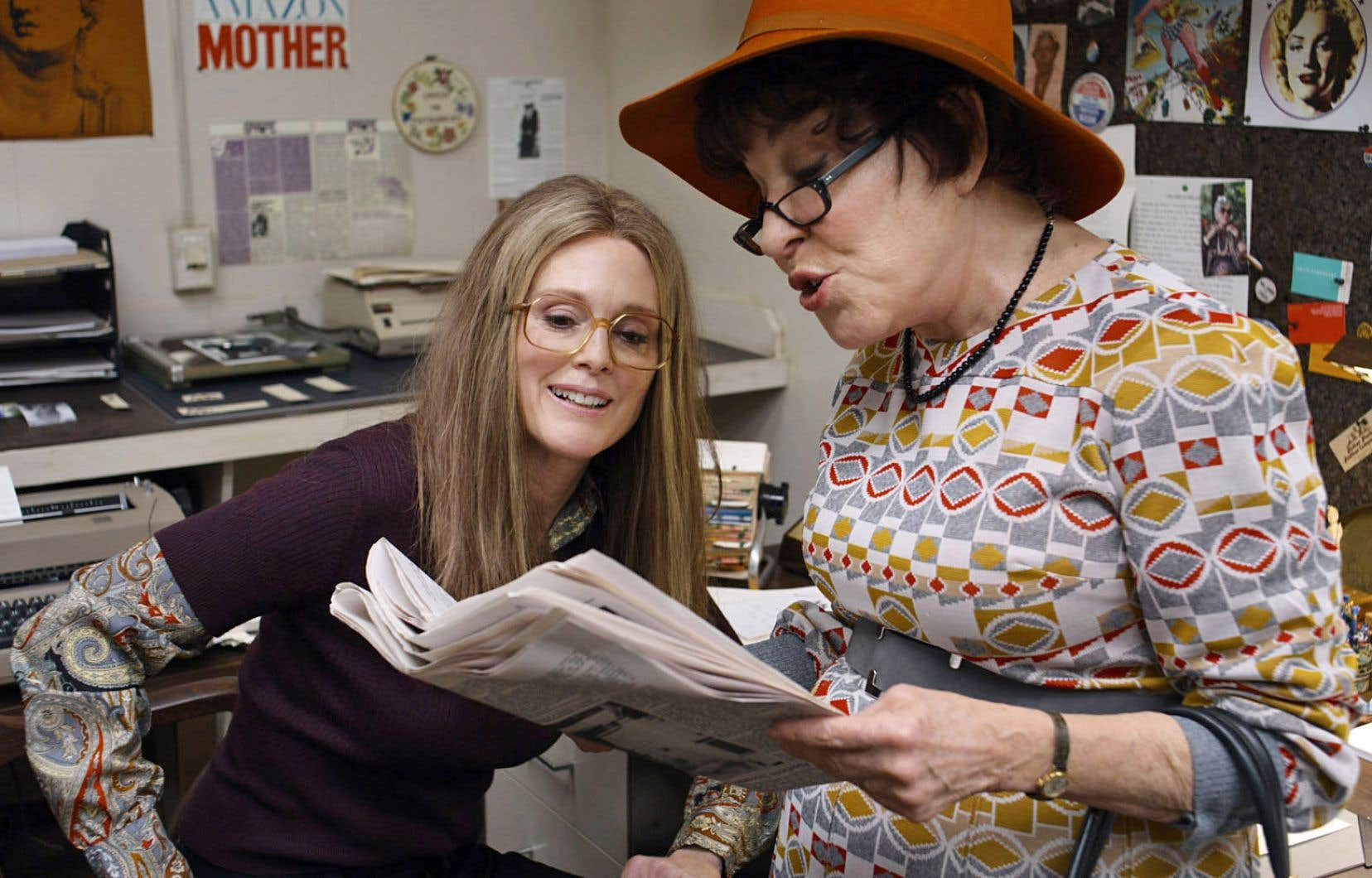 Julianne Moore et Bette Midler dans «The Glorias»