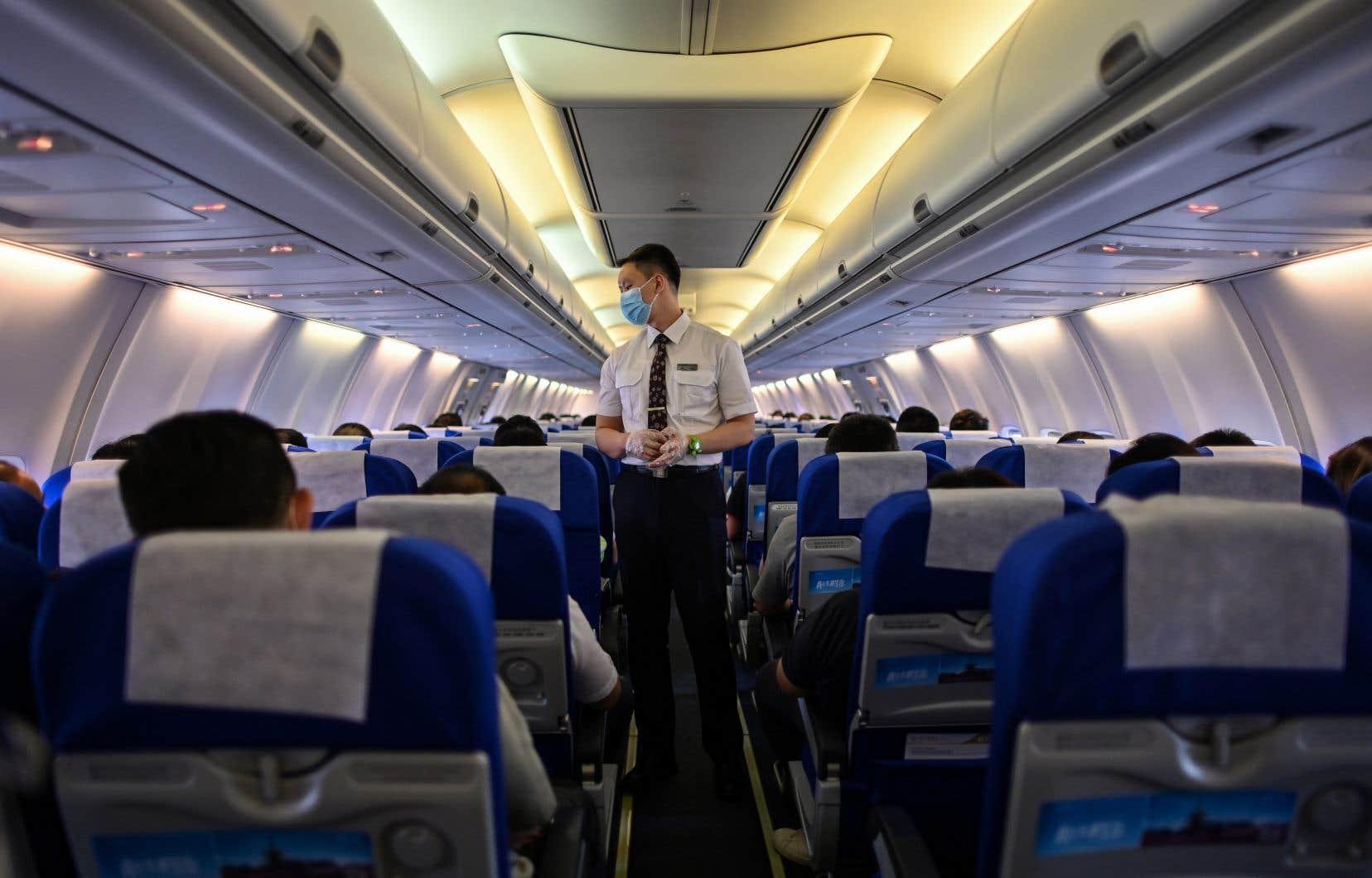 À l'heure actuelle, l'industrie de l'aviation fonctionne à 15% de sa capacité.