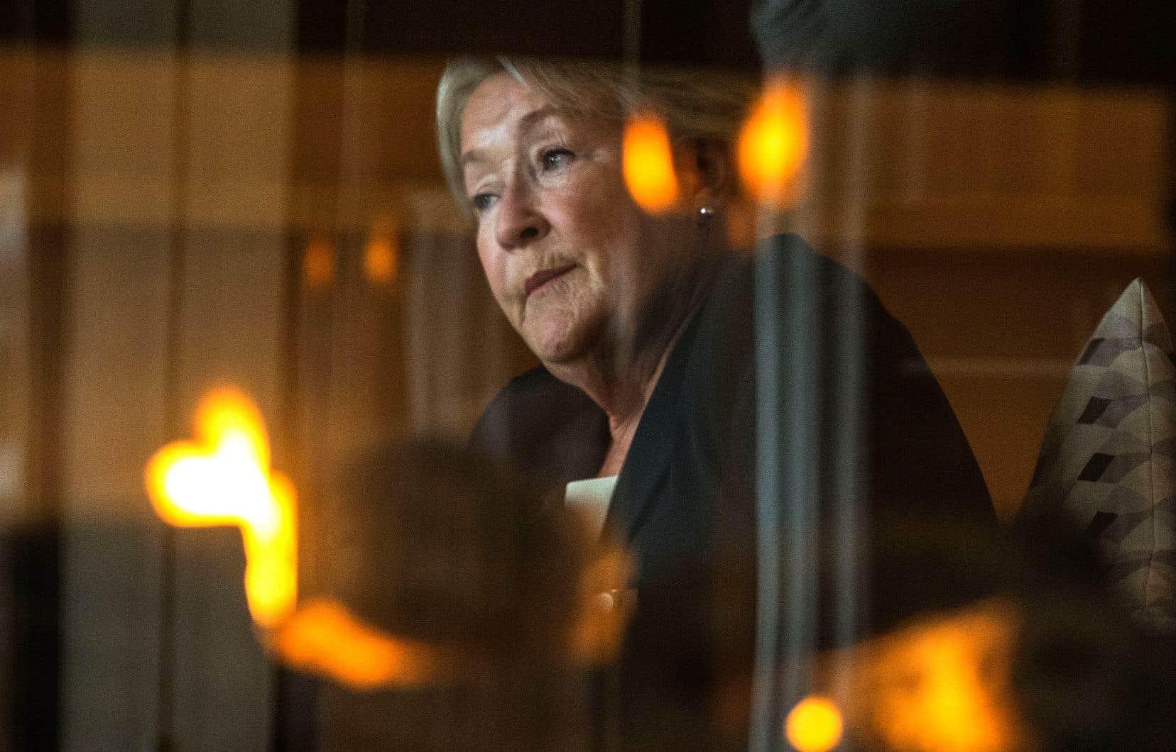 Pauline Marois demeure une fière membre du PQ pour qui l'indépendance du Québec est toujours «nécessaire». «Ça peut être un peu long, mais il faut garder espoir», insiste-t-elle.