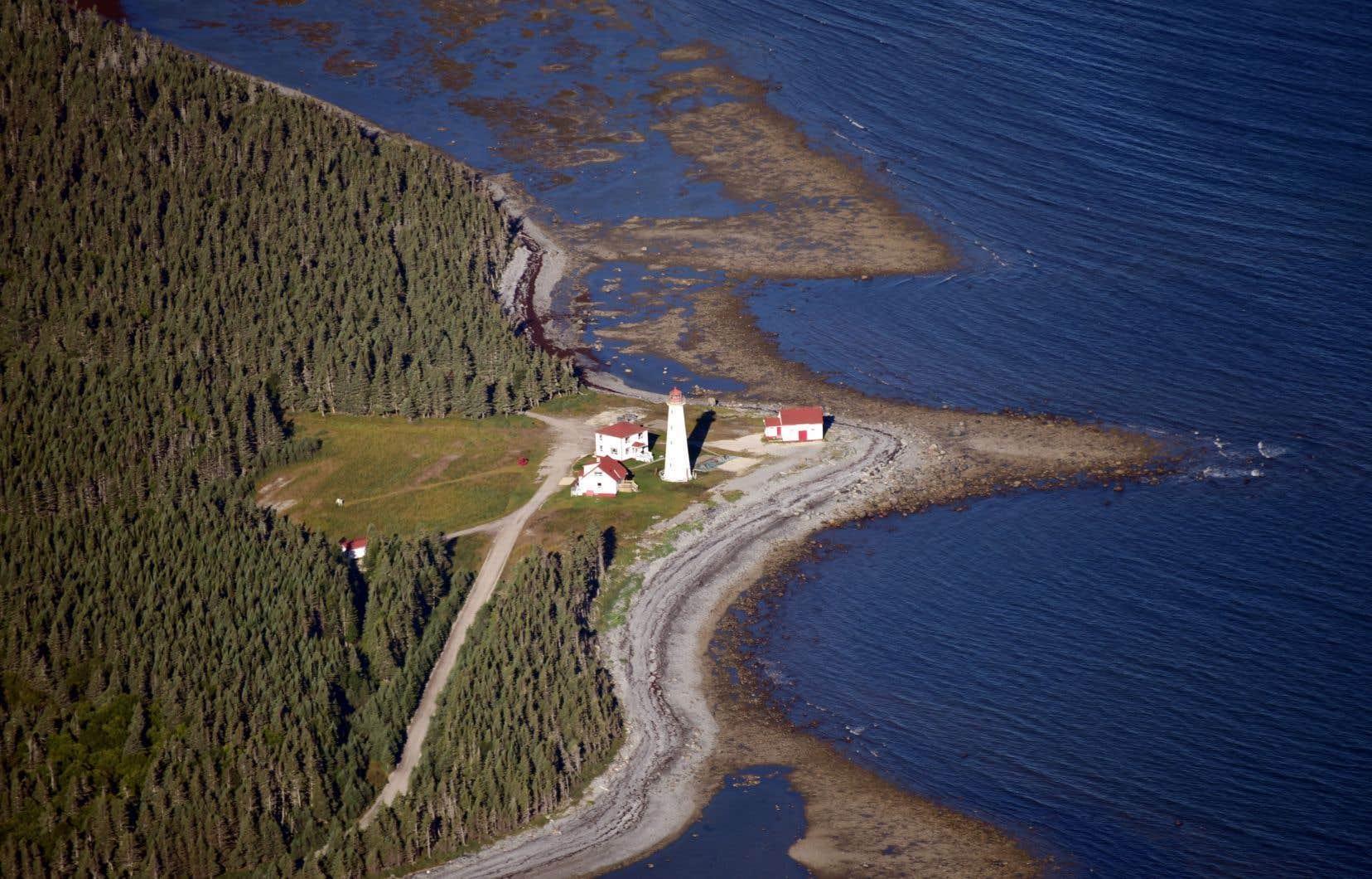 La candidature de l'île d'Anticosti au titre de patrimoine mondial de l'UNESCO est encore loin d'être prête.
