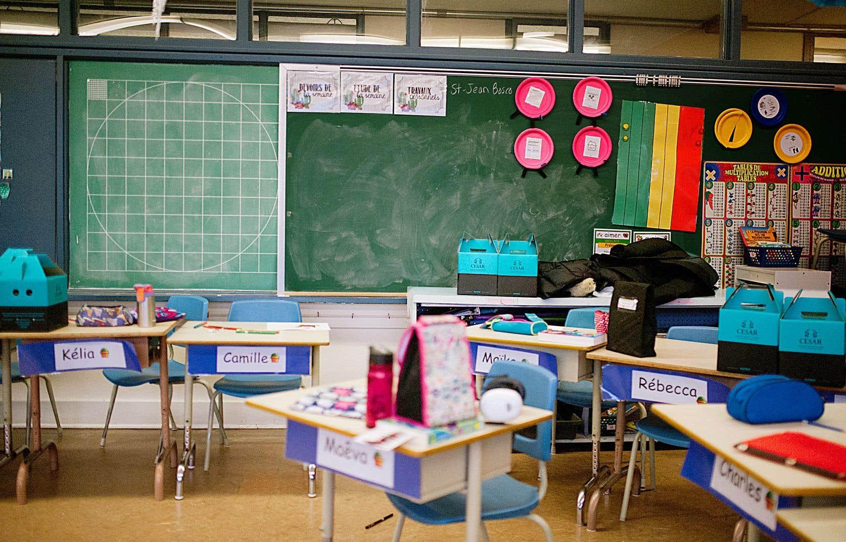 La Direction de santé publique de Montréal tient à éviter une fermeture généralisée des écoles, comme lors du printemps.