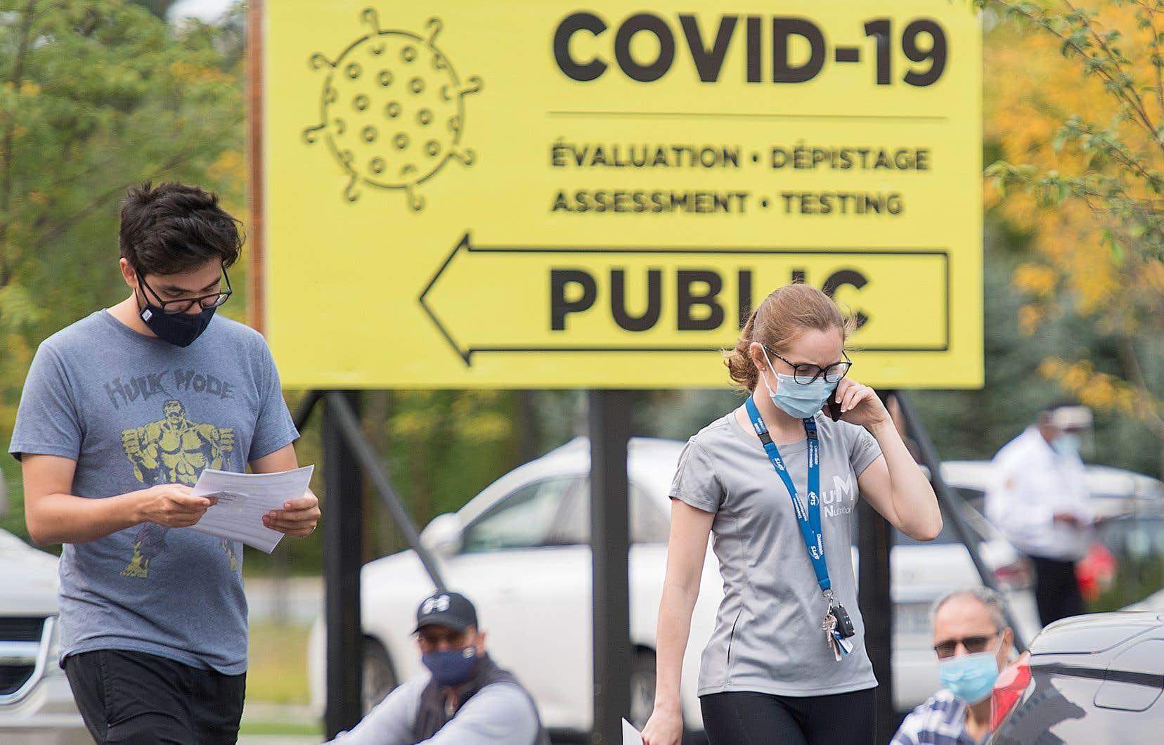 Le ministère de la Santé a rapporté lundi 750 nouveaux cas de COVID-19 dans la province.