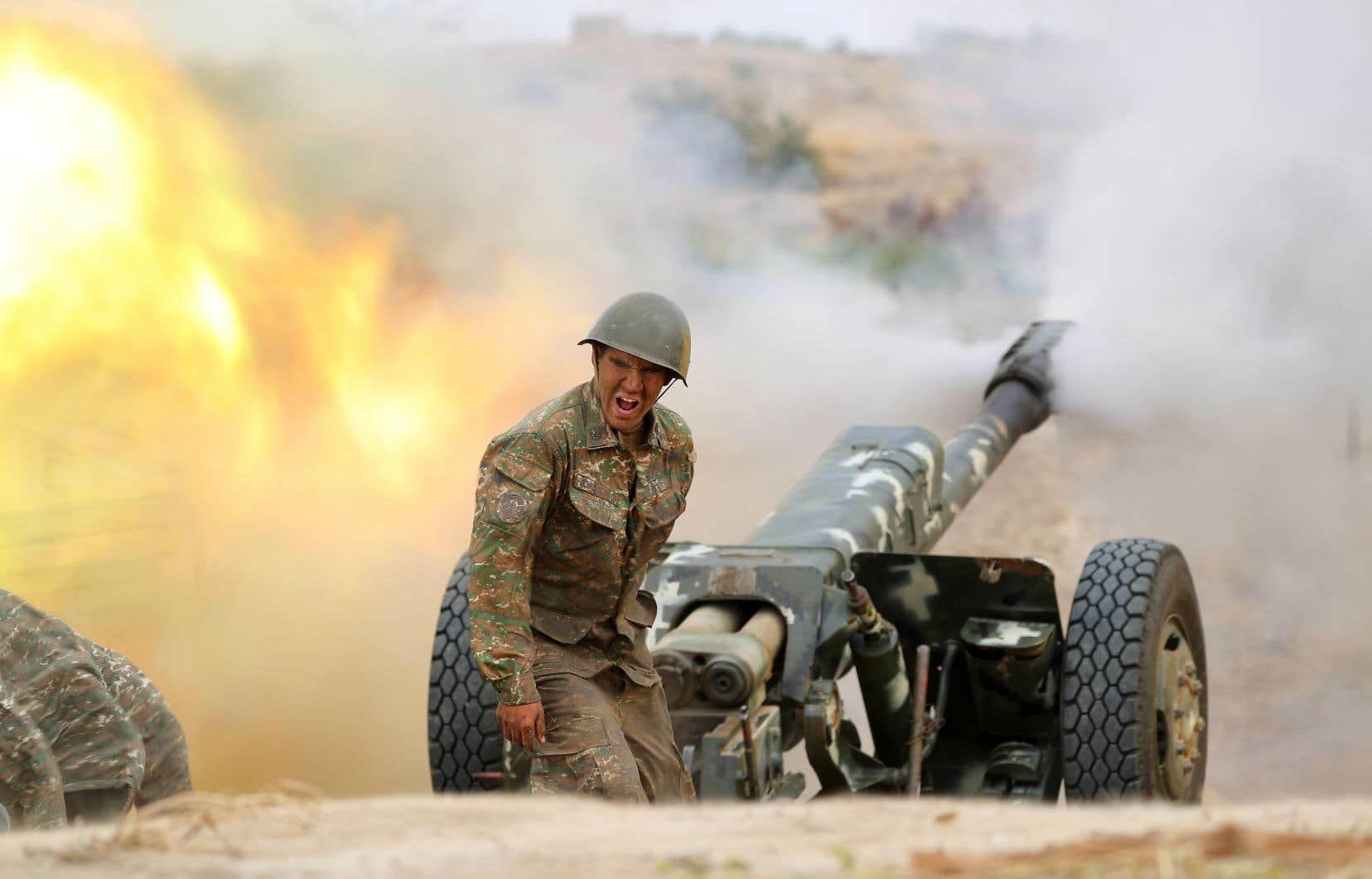 Depuis dimanche, les forces de l'enclave séparatiste du Nagorny Karabakh (sur la photo), soutenue par l'Arménie, et celles de l'Azerbaïdjan s'affrontent dans les combats les plus meurtriers depuis 2016.