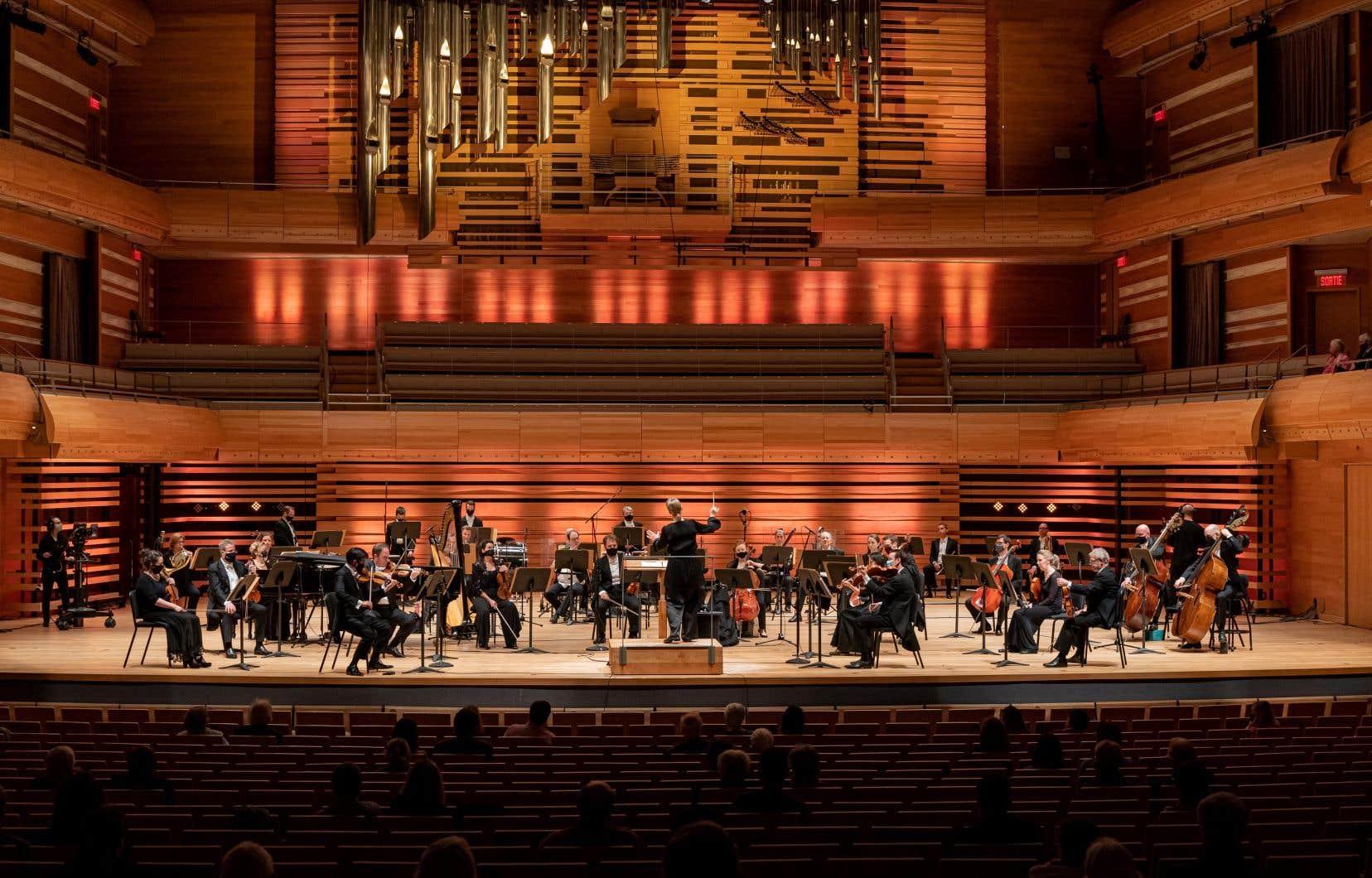 Ce concert était le dernier devant un public à la Maison Symphonique avant 28 jours.